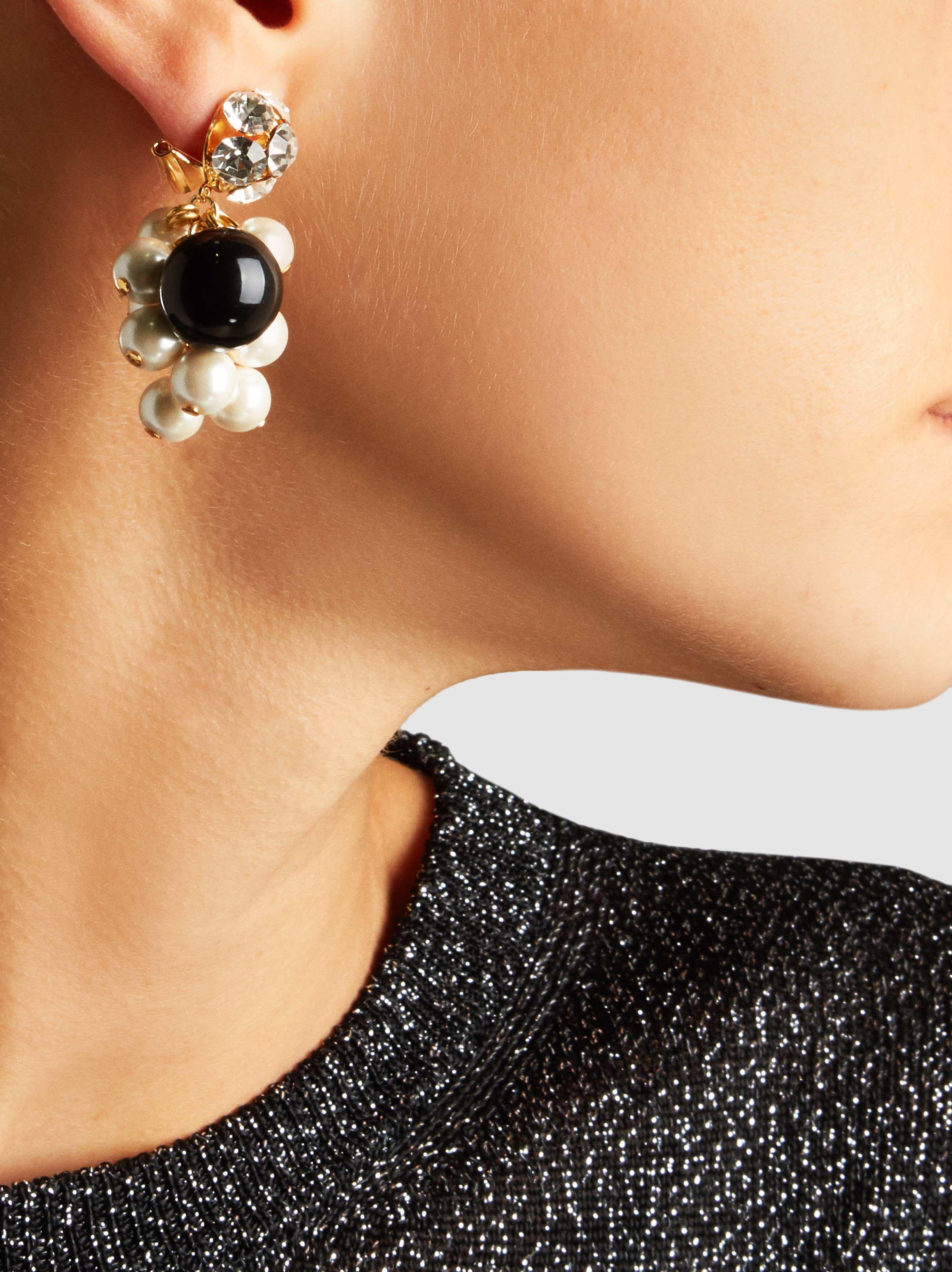 Rachel Comey Mira Crystal And Pearl Earrings mgxottms