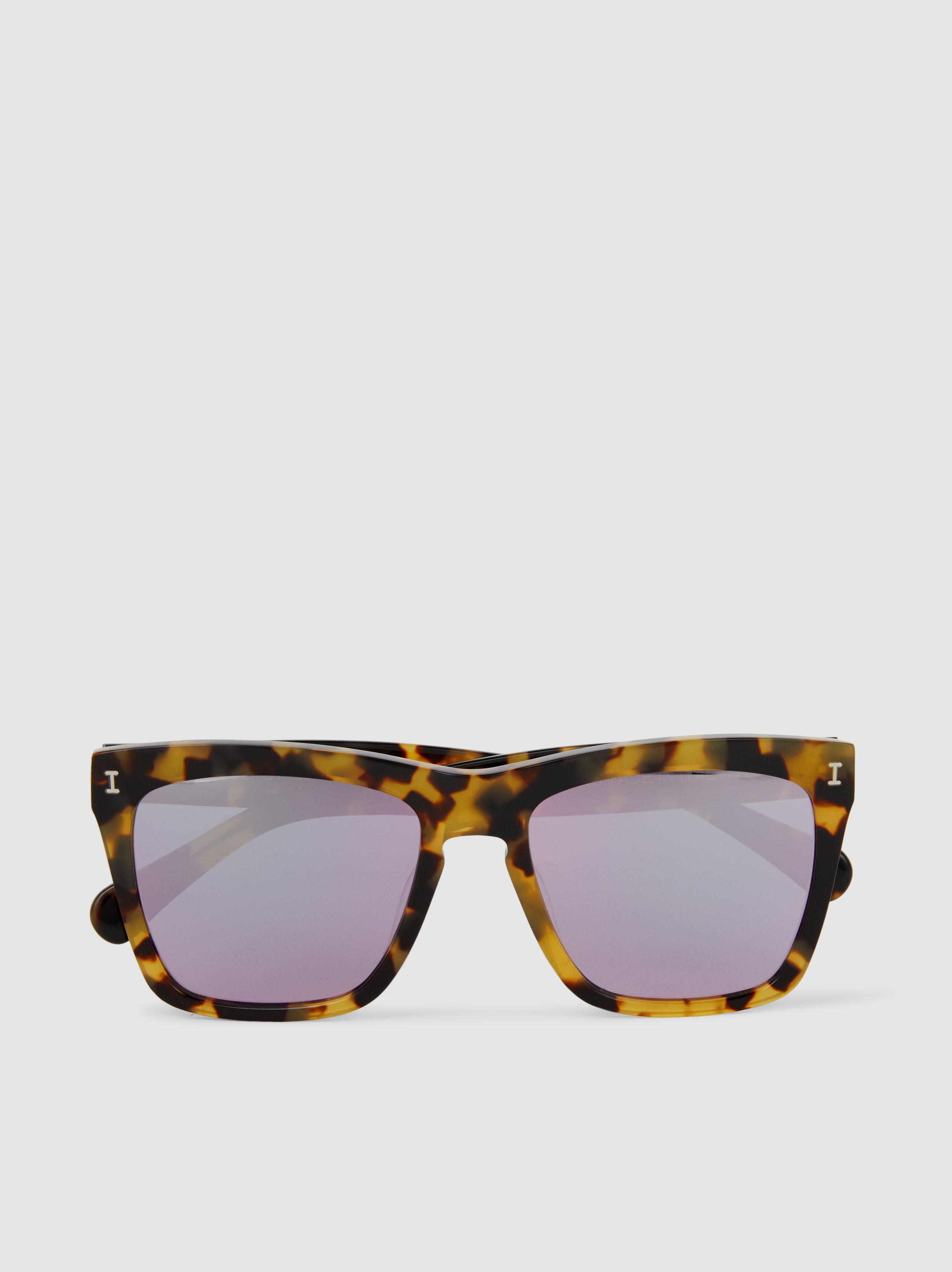 Los Feliz Square Frame Sunglasses Illesteva PgySnXNdR