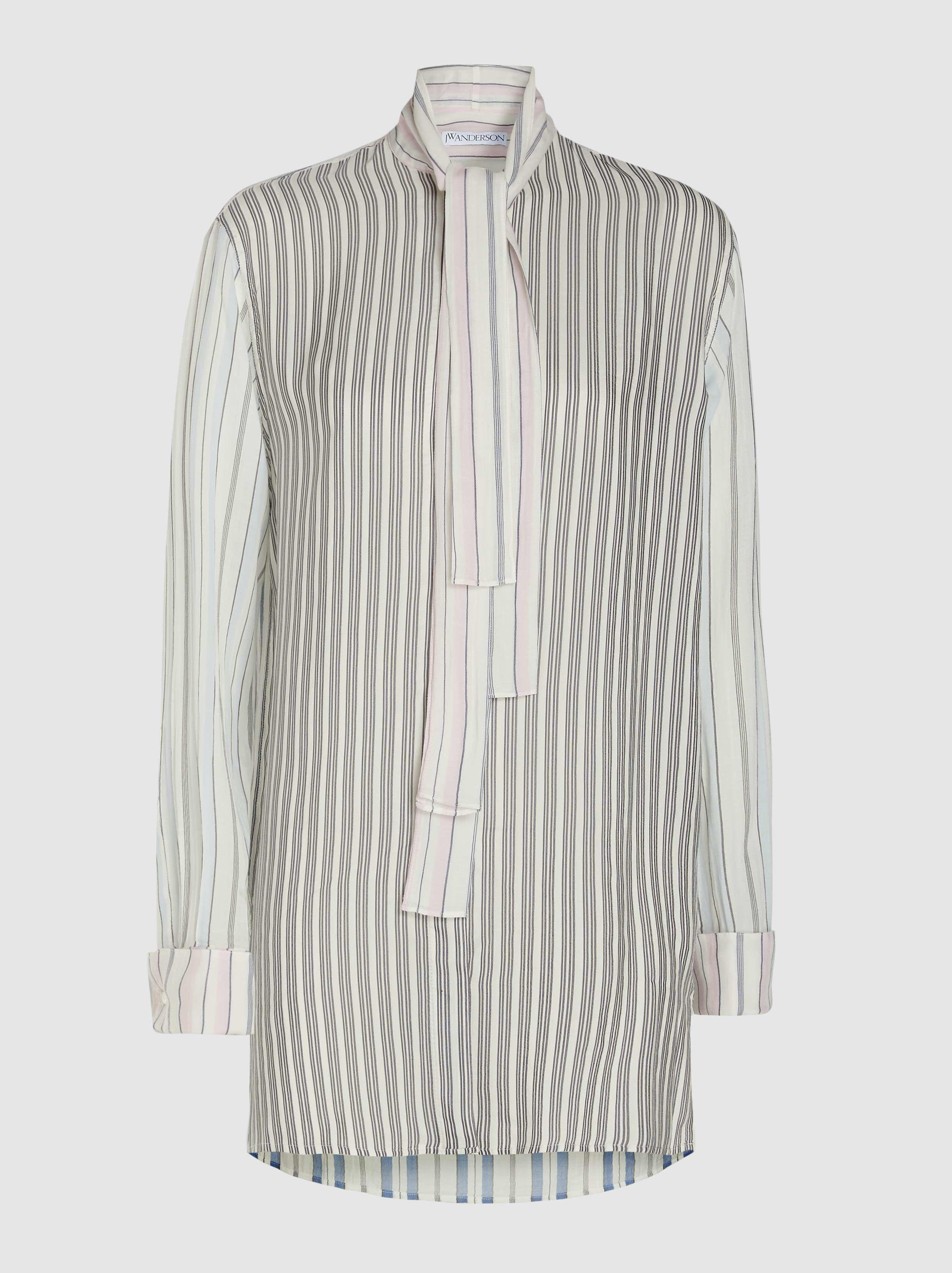 806d509cb9 JW Anderson. Women s Pyjama Striped Button Down Cotton Shirt