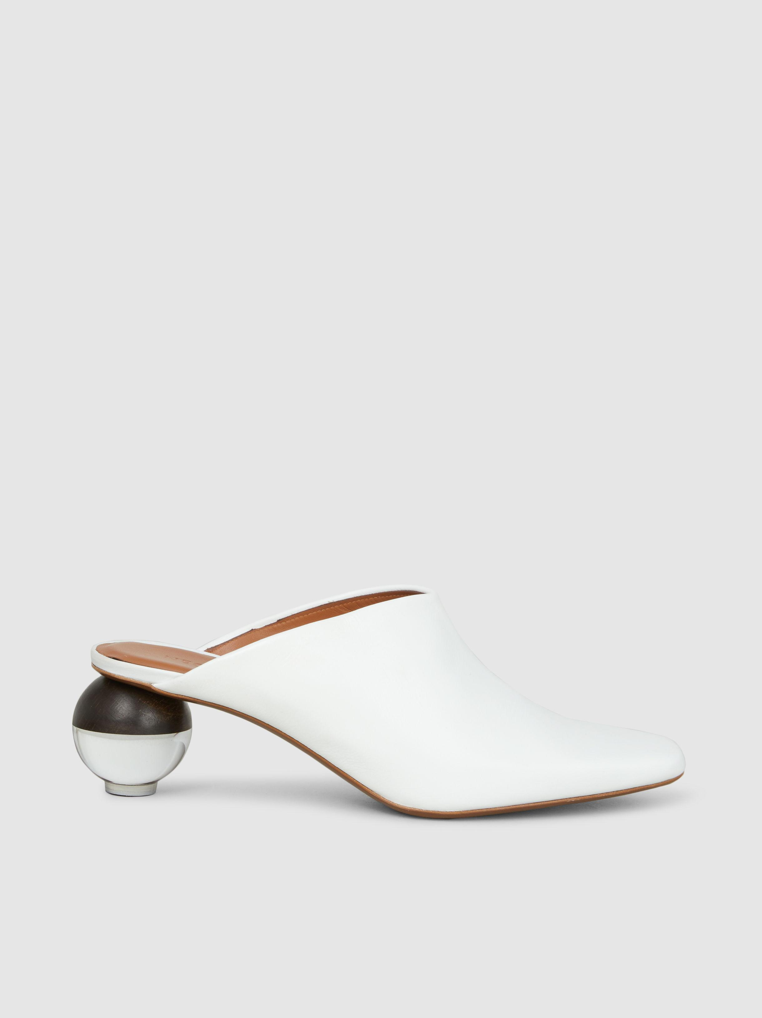 Neous Brassia Leather Mules GrWmXPPE