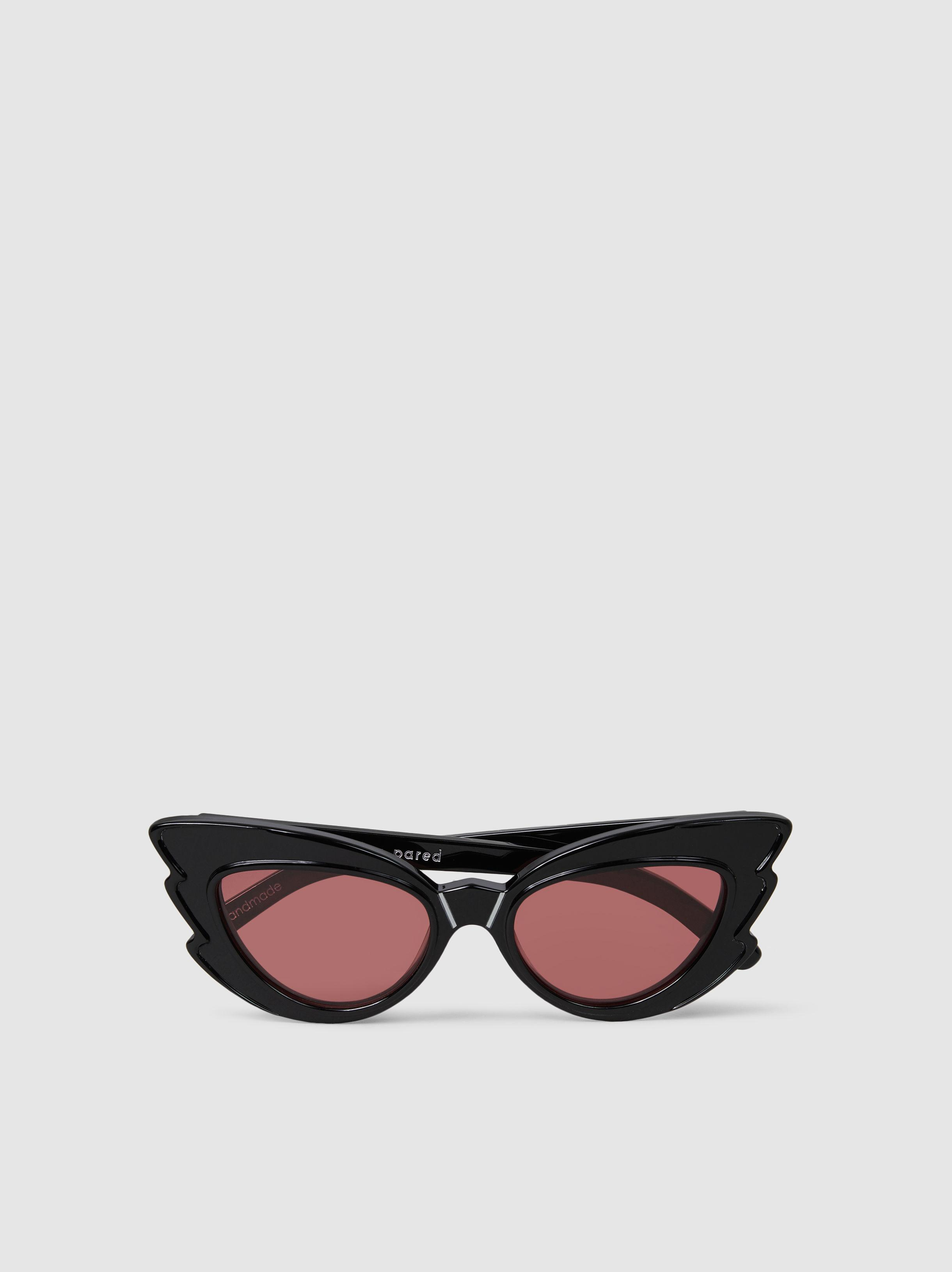 9a70c012b1 Lyst - Pared Eyewear Stargazers Cat-eye Acetate Sunglasses in Black
