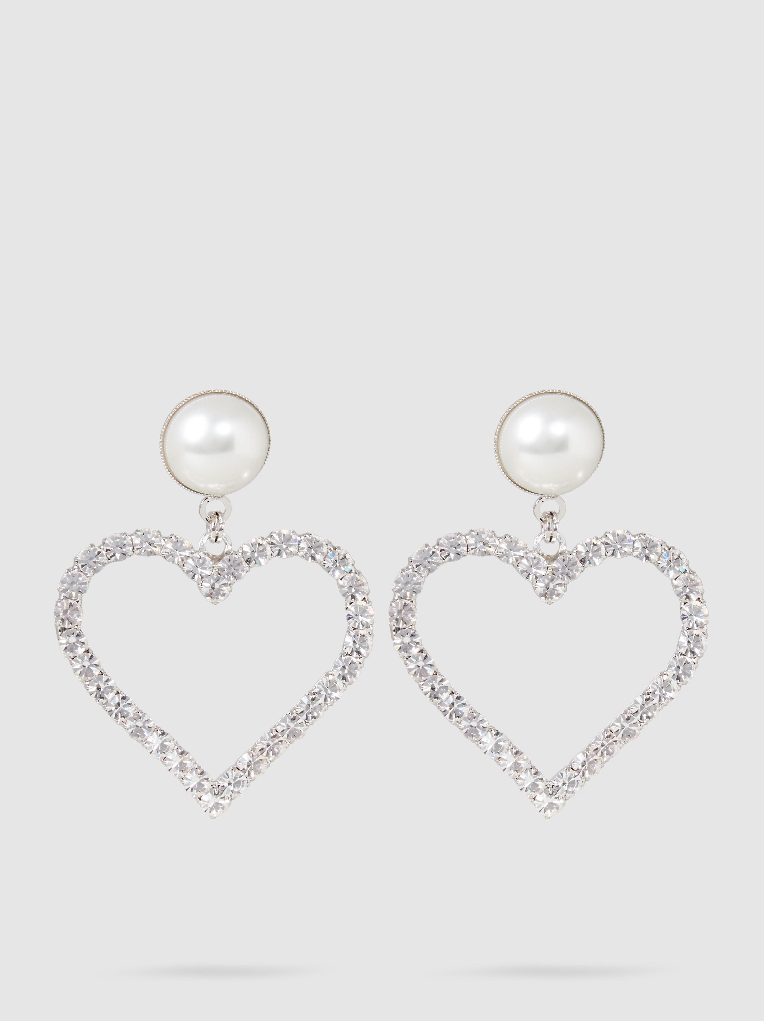 Alessandra Rich Rose Faux-Pearl Earrings txk8oHPp4