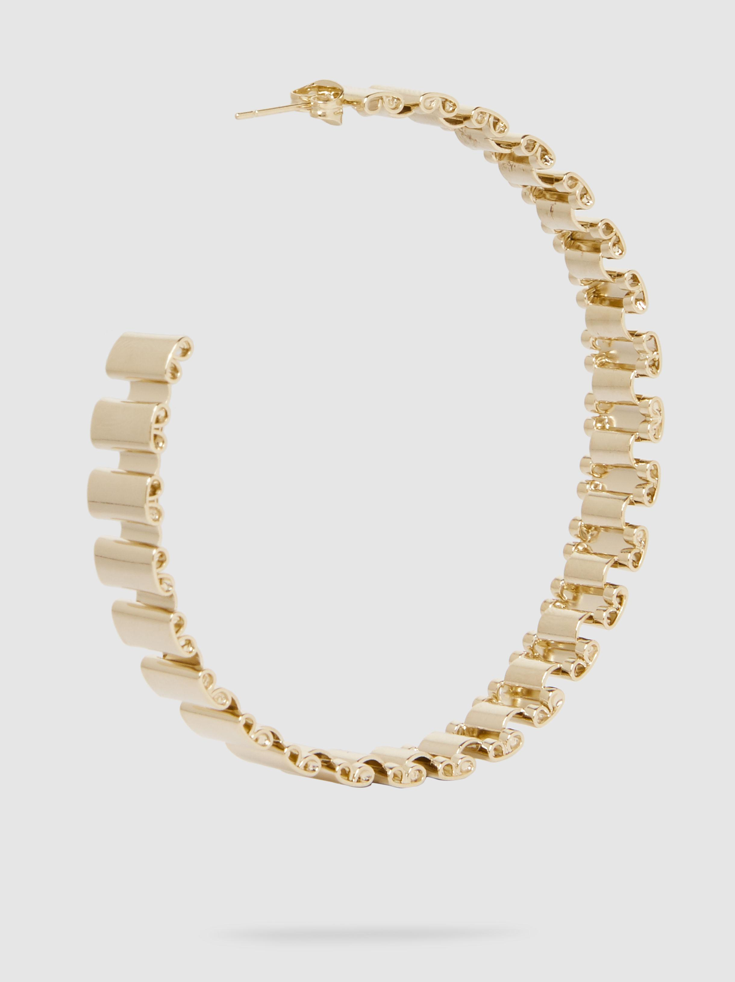 Casta Chain Link Gold-Tone Necklace Rosantica 2LzTyWuvbQ