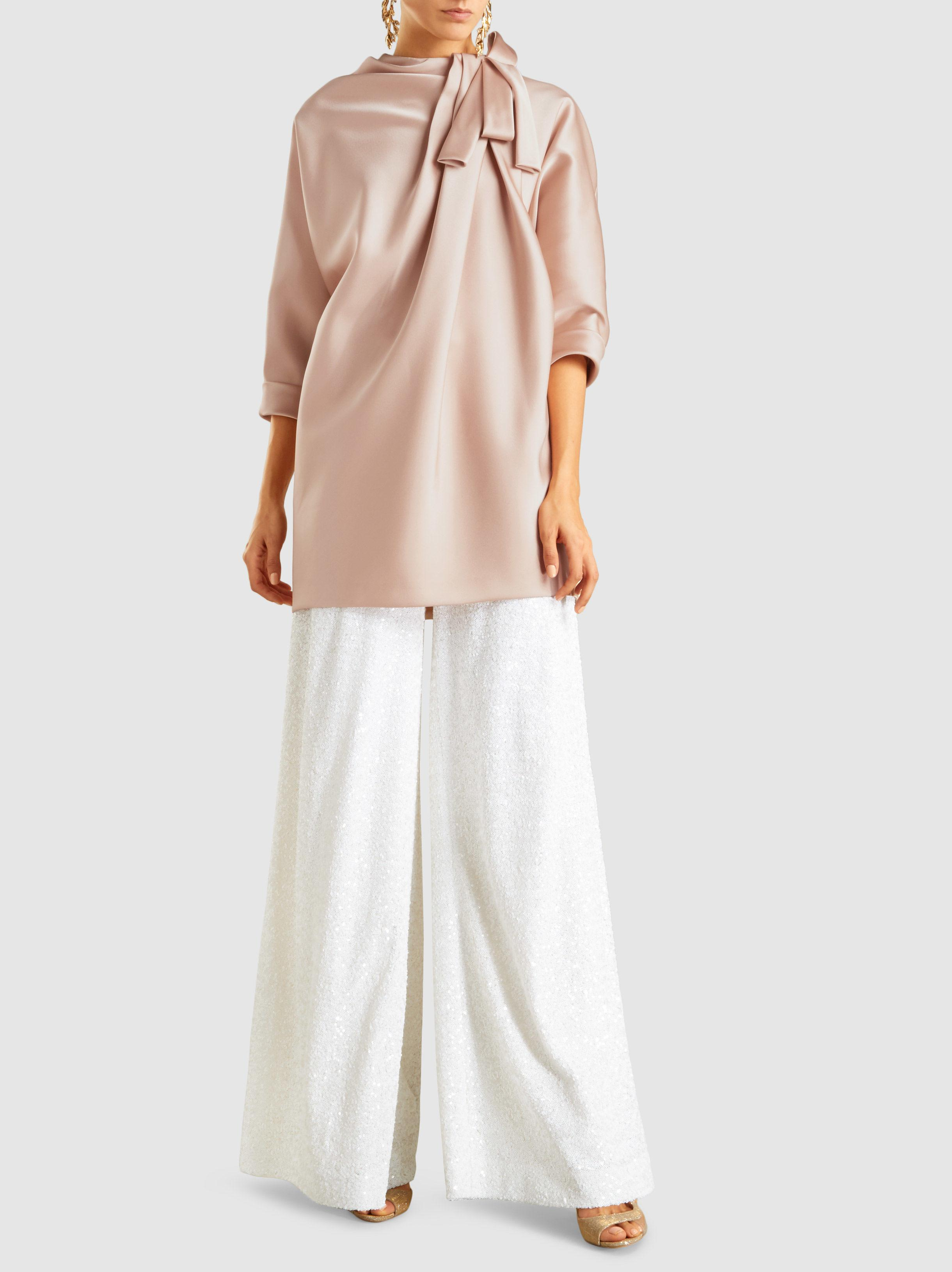 Dolman Sleeve Tunic With Bow Detail Marc Jacobs Best Supplier Outlet Footlocker Visit New For Nice Sale Online Discount Hot Sale uJTYL
