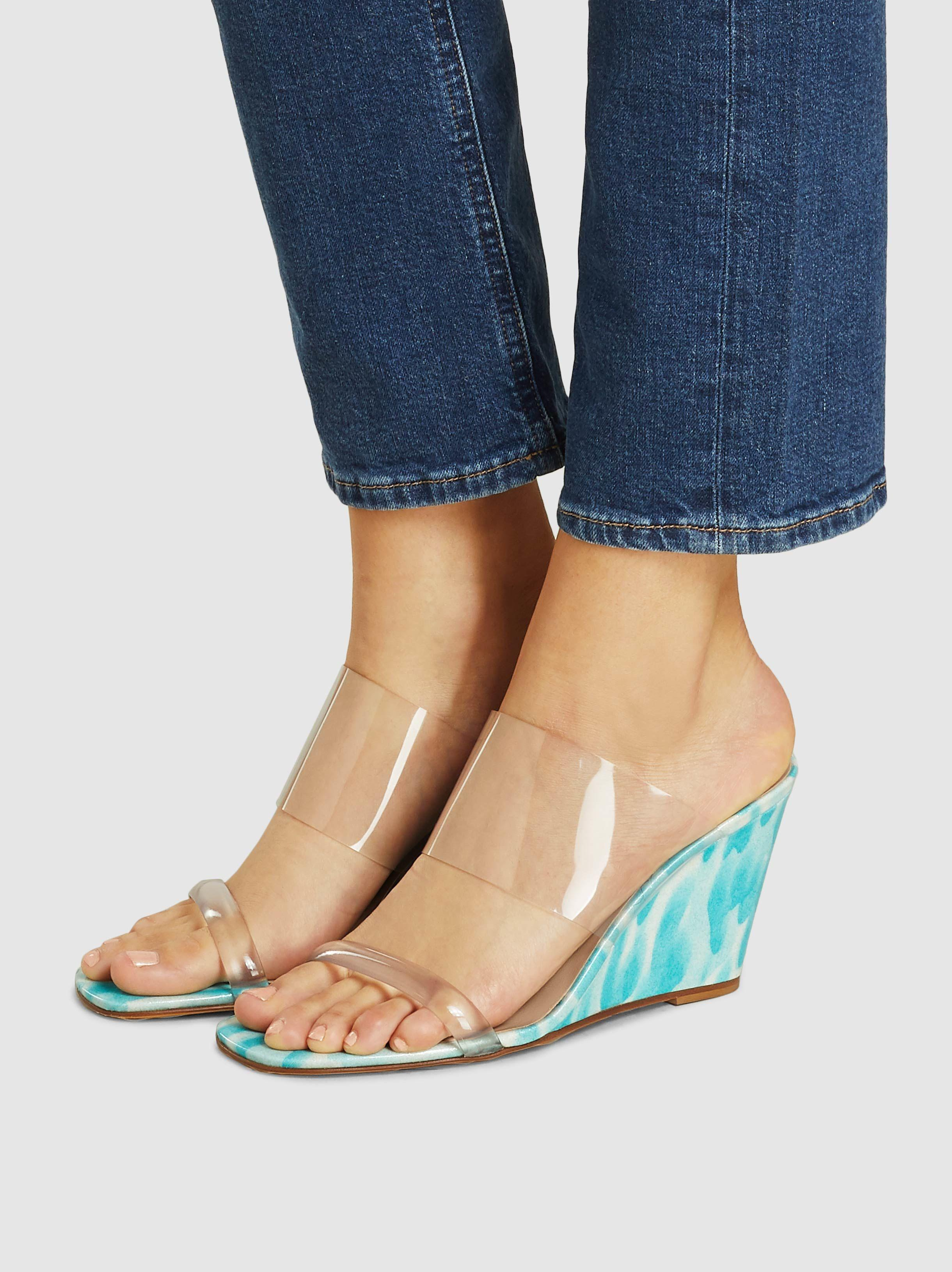 Olympia Wedge Maryam 46Lyst Save Sandals Zadeh In Nassir