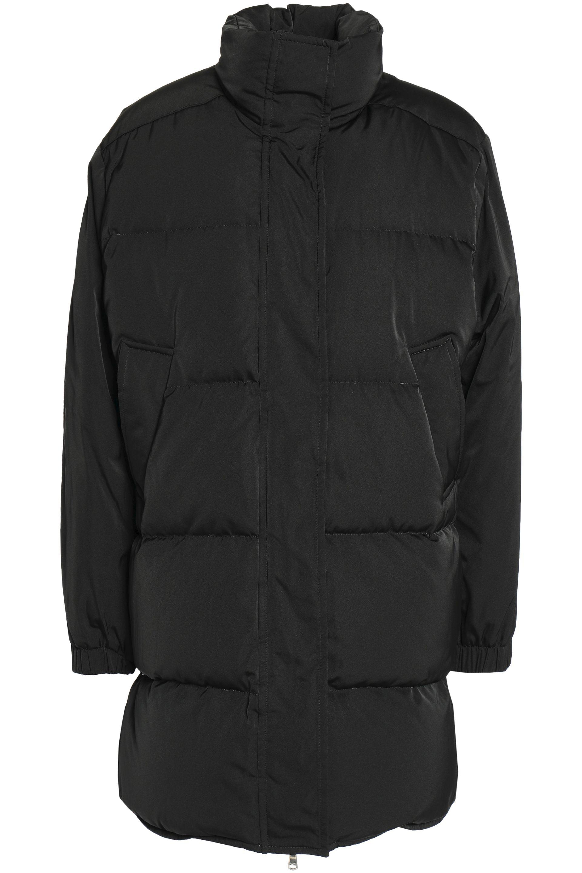 75012be19baf Emilio Pucci Woman Quilted Shell Down Jacket Black in Black - Lyst