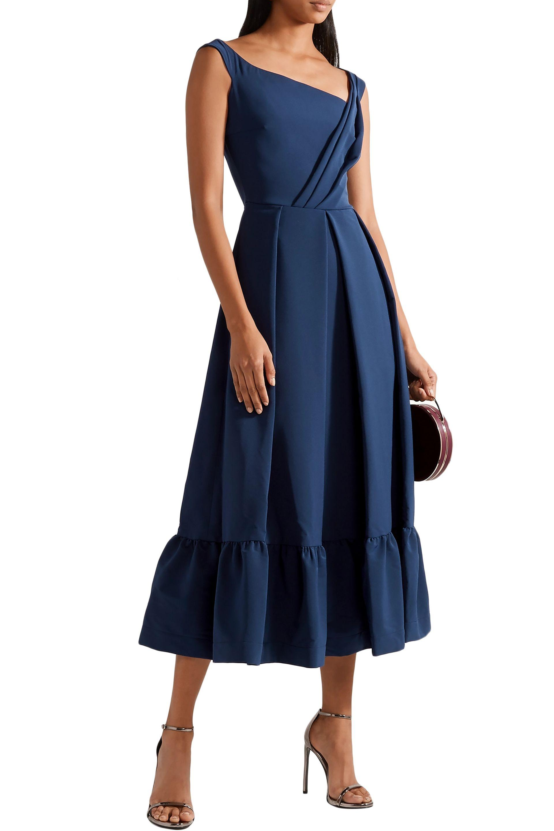 Preen Navy Maxi Dress