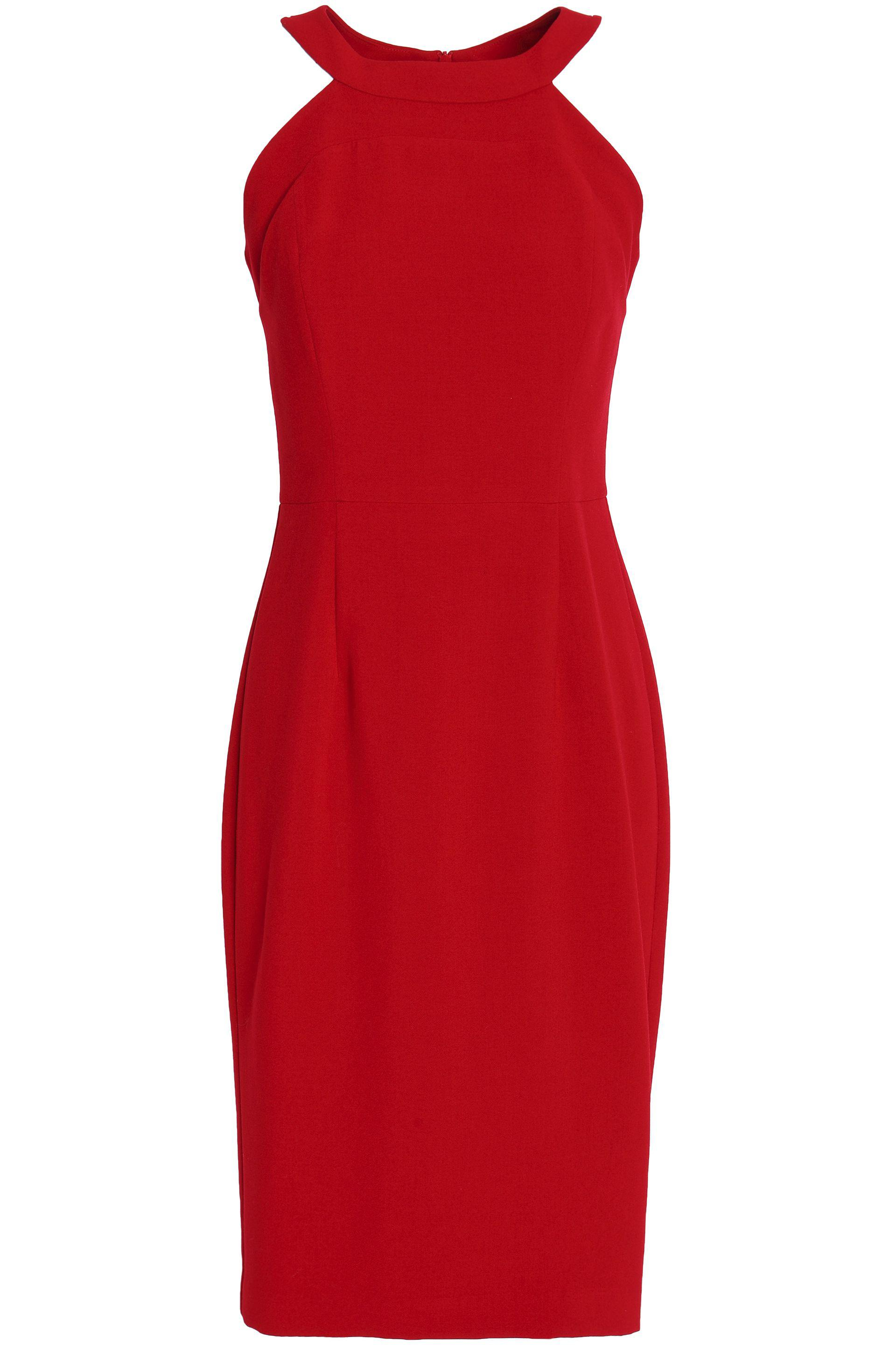 668a9dc2 Lyst - Black Halo Marcelle Ponte Dress in Red