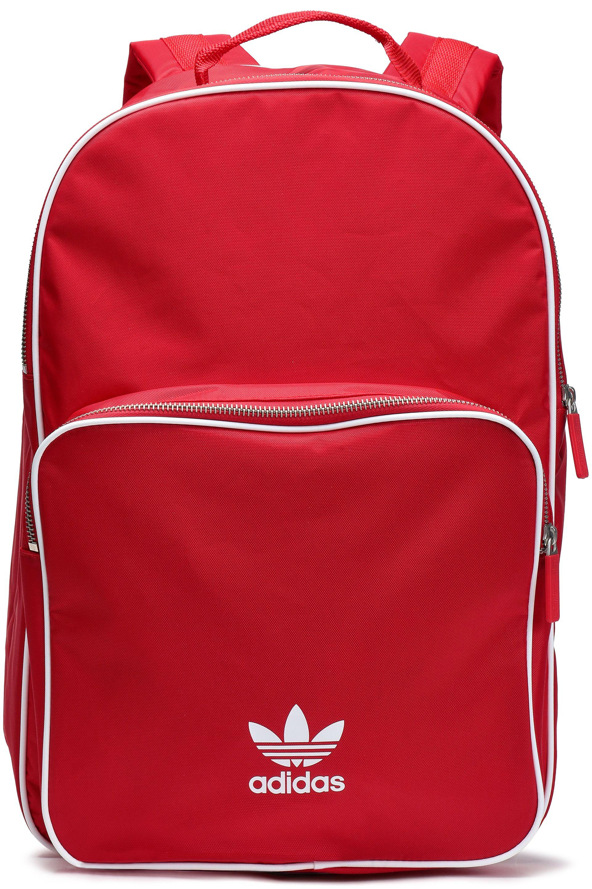 adidas Originals Woman Woven Backpack Red in Red - Lyst 4927a200c6