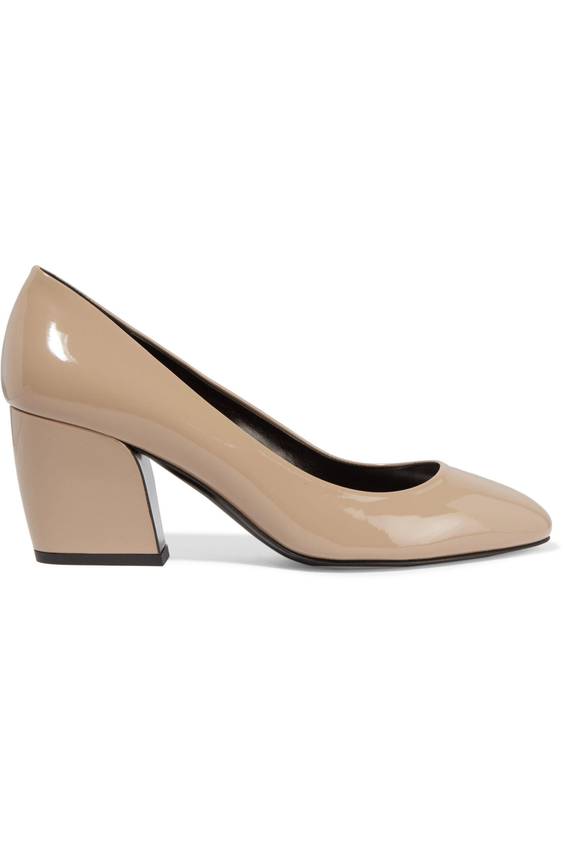 e5314c21b29 Pierre Hardy Calamity Patent-leather Pumps in Natural - Save ...