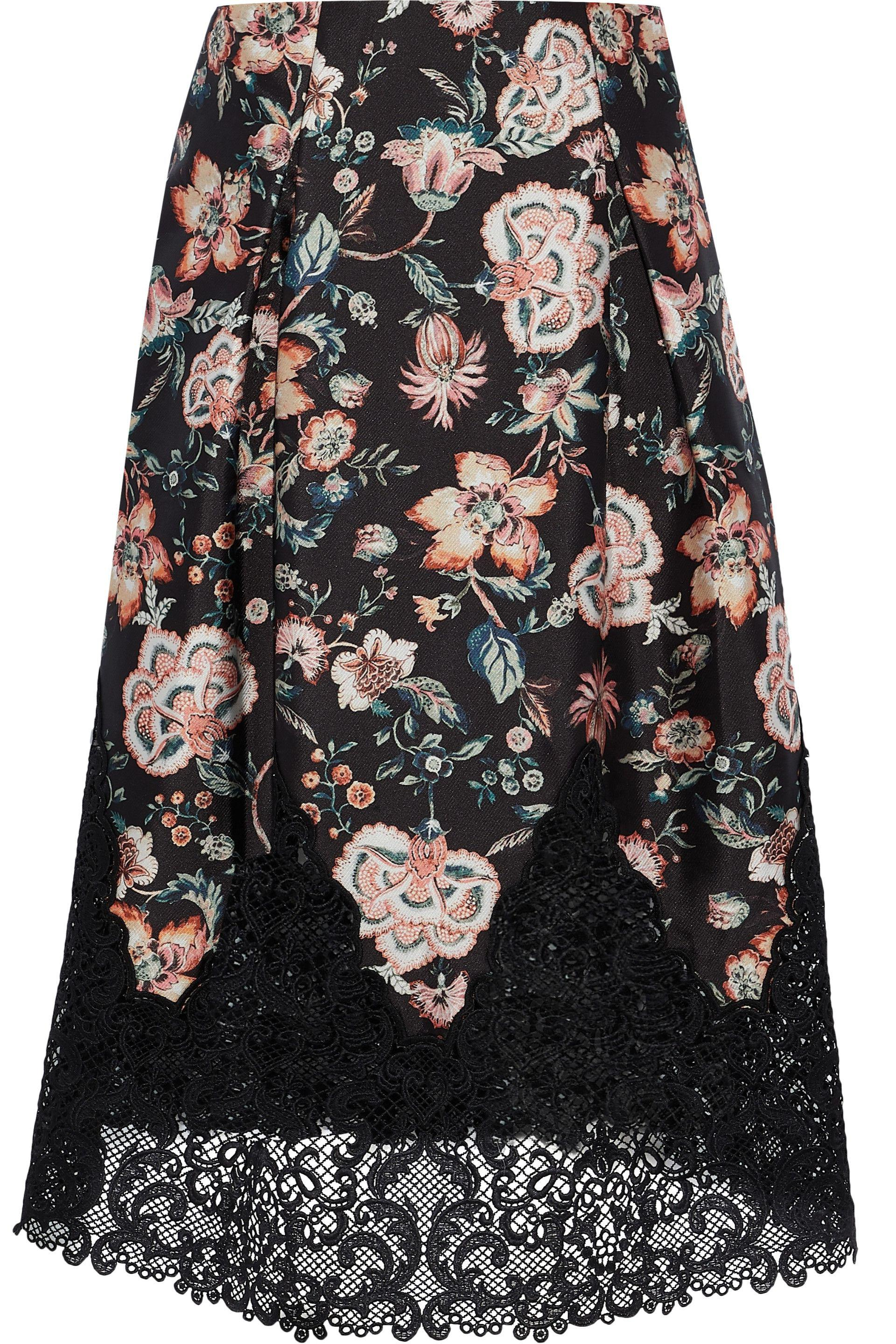 Sachin & Babi Woman Pleated Striped Corded Lace Skirt Black Size 10 Sachin & Babi Outlet Locations Unisex qy0NCt374