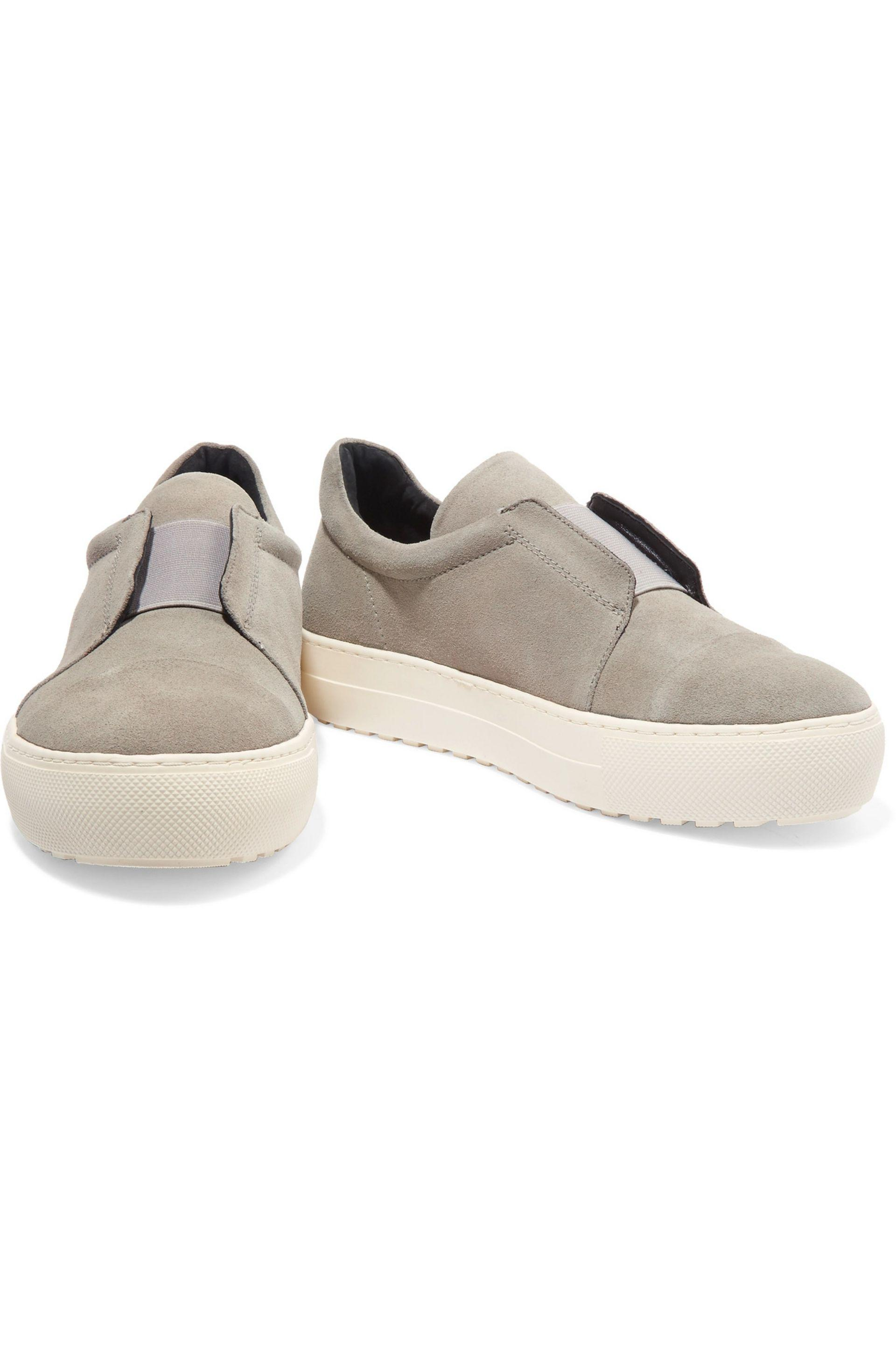 Largest Supplier For Sale By Malene Birger Woman Snake-effect Leather Slip-on Sneakers Light Gray Size 36 By Malene Birger Free Shipping Purchase Buy Cheap For Sale QQj4fa8eR