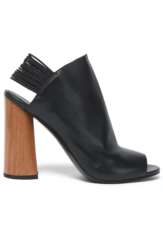 5f5415c69 Lyst - 3.1 Phillip Lim Woman Drum Leather Slingback Sandals Black in ...