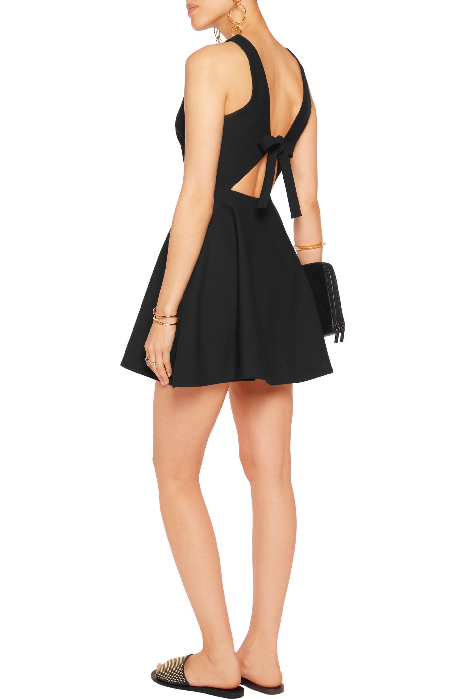 Elizabeth and James | Black Britt Cutout Twill Mini Dress | Lyst. View  Fullscreen