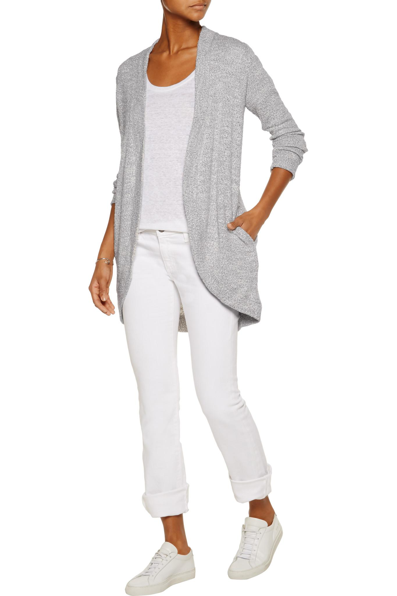 Tommy Bahama Synthetic Cascade Cable Sparkle Sweater in
