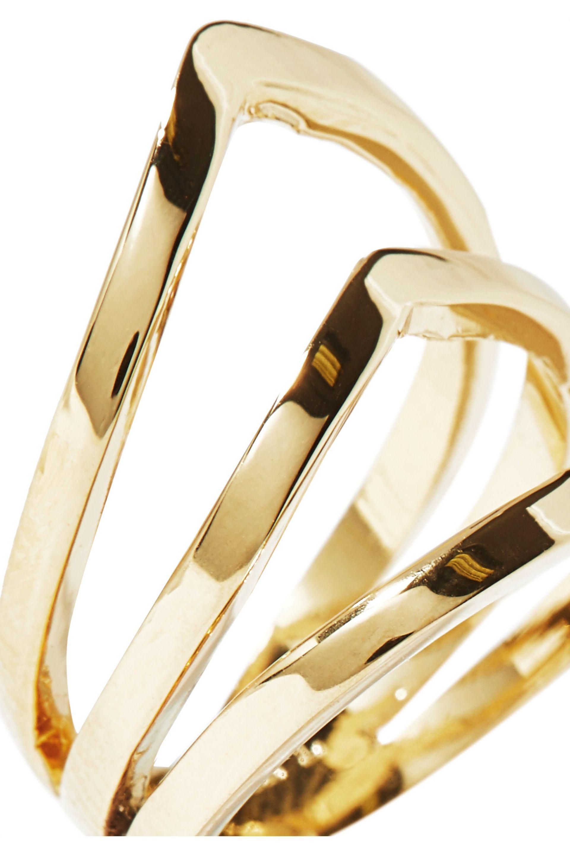Arme De Lamour Woman Set Of Two Rose Gold-tone Rings Rose Gold Size 7 Arme De L'Amour ZO2GRg4