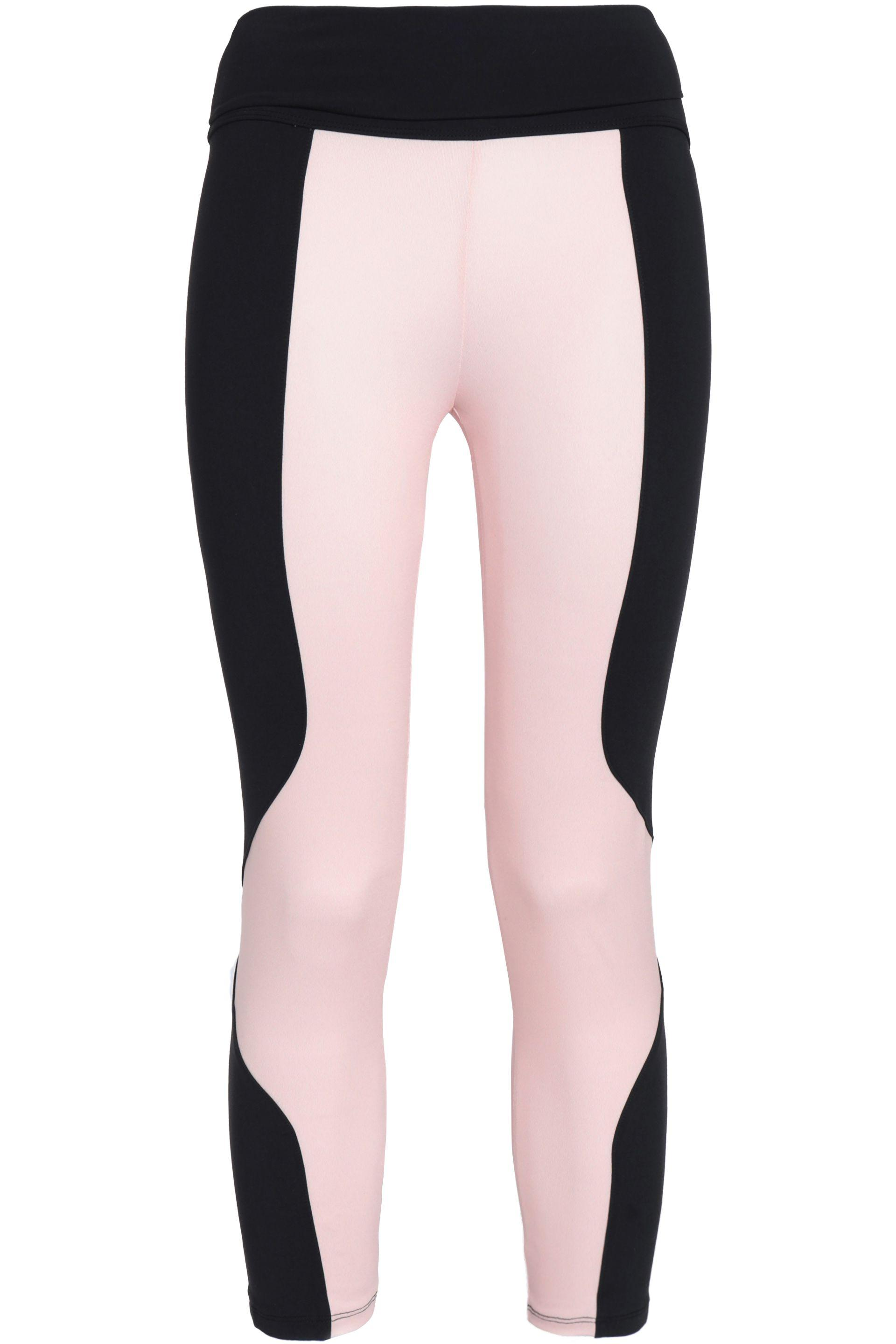 c5637f9820bed Live The Process Woman Two-tone Stretch Leggings Pink in Pink - Save ...