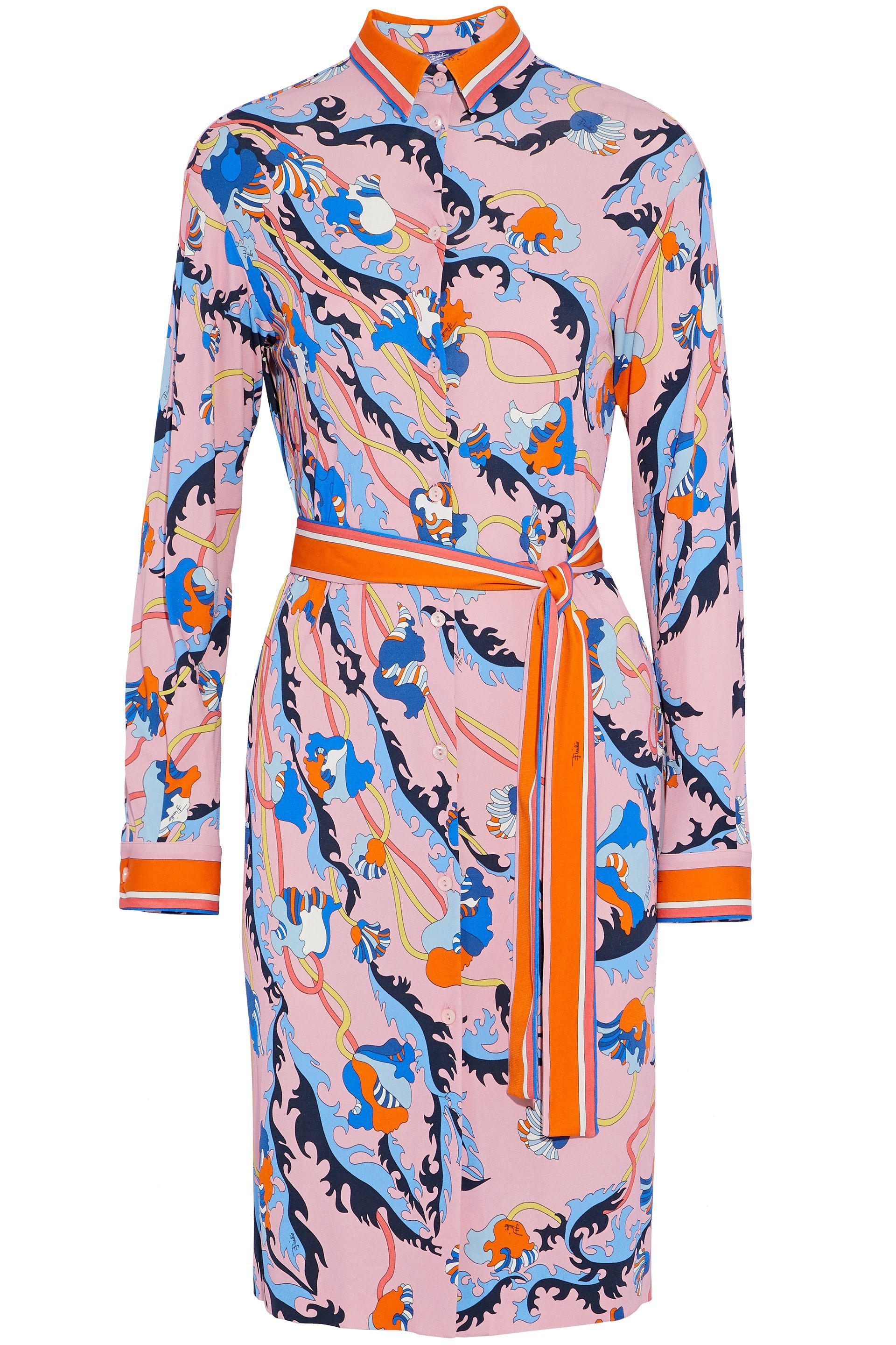 Printed jersey shirt Emilio Pucci Outlet Low Price Fee Shipping Cheap Sale Shop Offer Free Shipping Pay With Visa Buy Cheap Pre Order Footlocker Pictures Online kLMq6evU