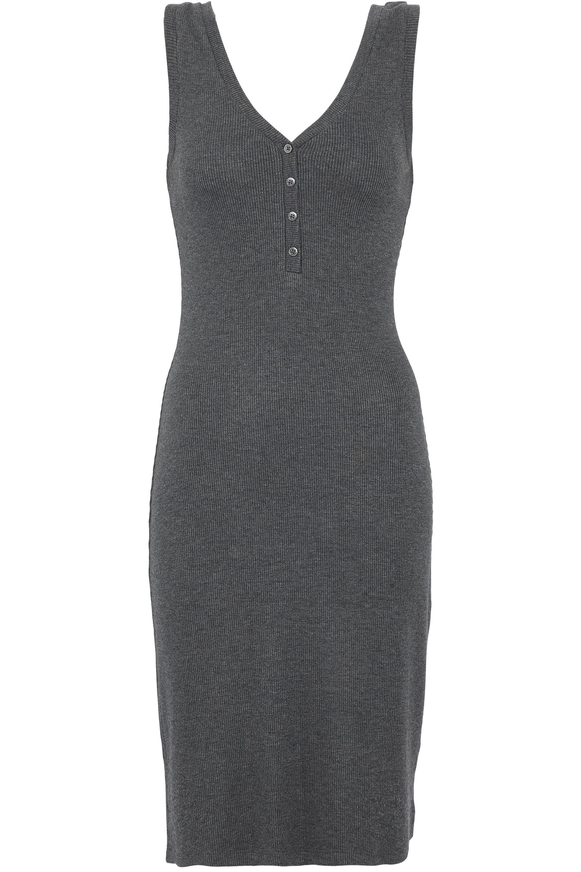 Shopping Online With Mastercard Lagence Woman Ribbed-knit Dress Black Size M L'agence Hot Sale Pay With Visa Geniue Stockist Cheap Online XzHIsVQ