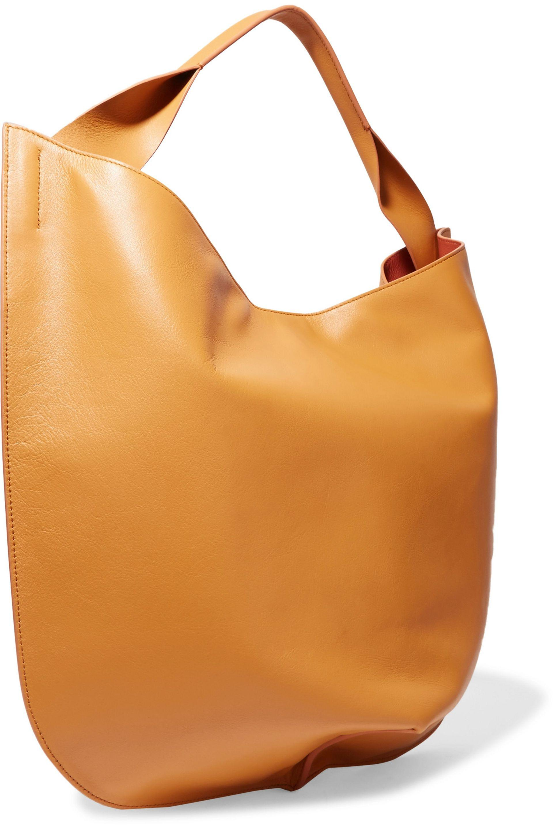 tote bag - Yellow & Orange Jil Sander Super Specials Limited New Outlet Discount Authentic Cheap Fast Delivery Hurry Up eZP7ZN