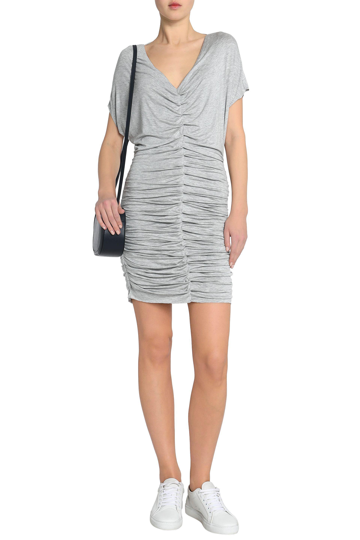21dd574755a bailey-44-Light-gray-Impact-Zone-Ruched-Stretch-jersey-Mini-Dress-Light-Gray.jpeg
