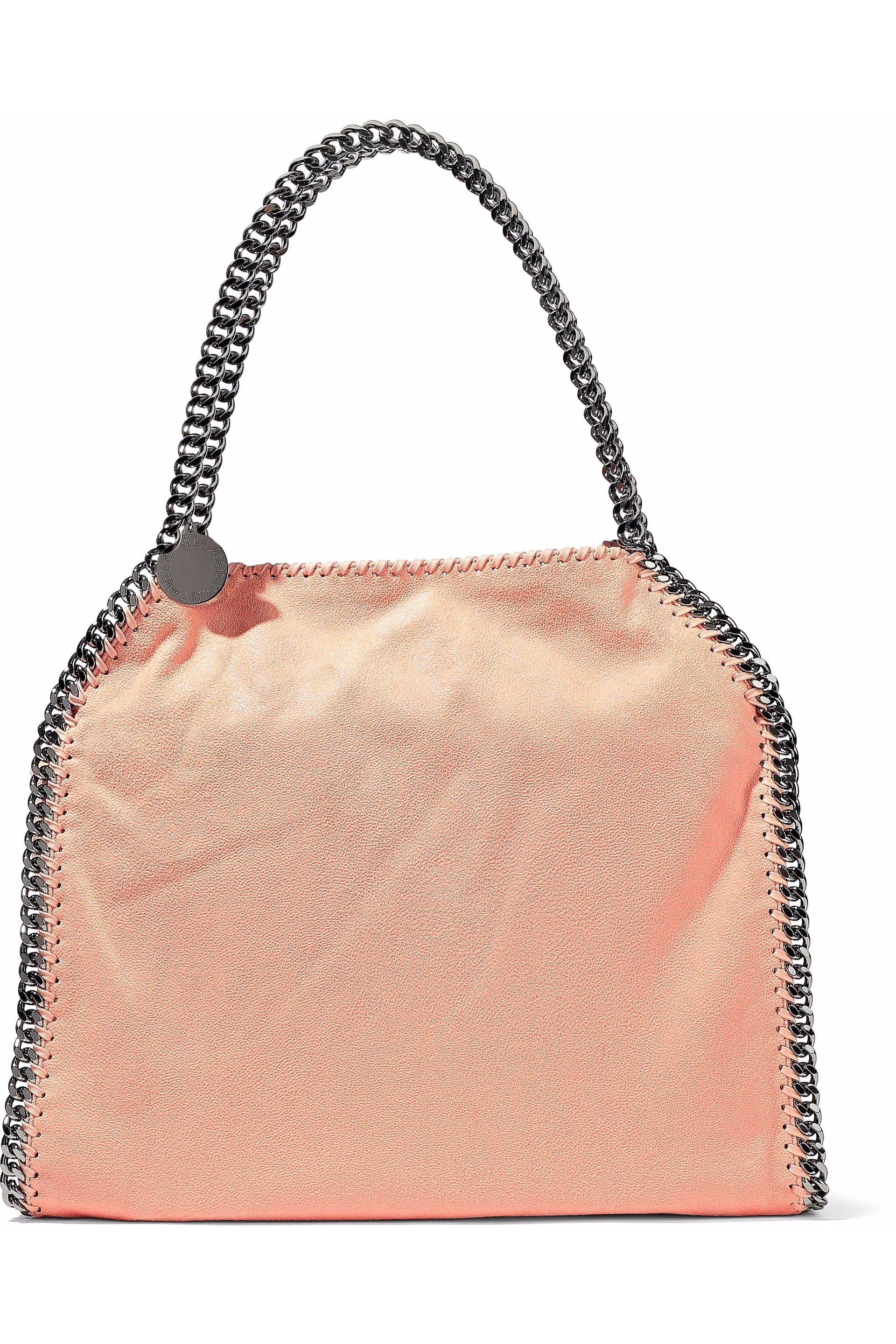 The Falabella Medium Reversible Faux Brushed-leather Tote - Blush Stella McCartney PwrA0P