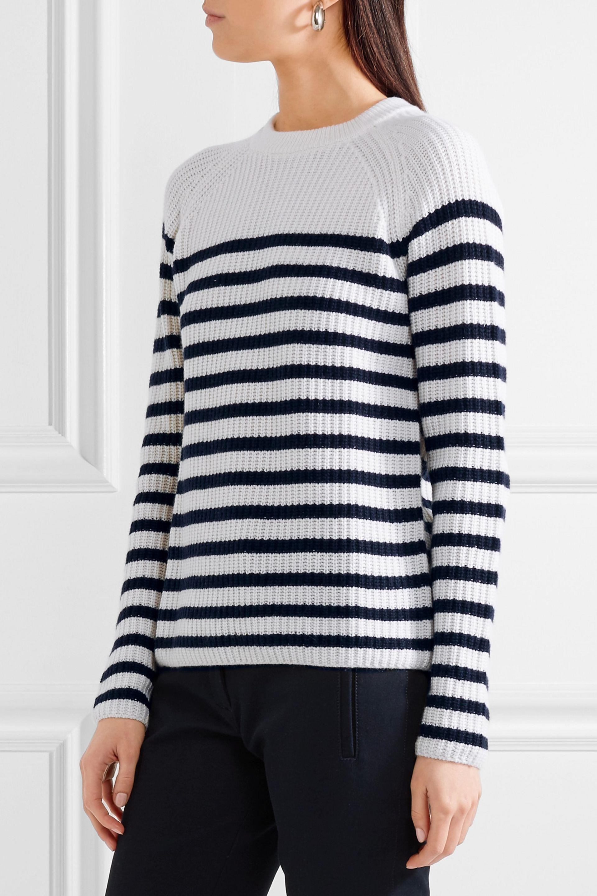 Buy Cheap Supply Striped cashmere sweater Joseph Clearance Fashionable Hot Sale Low Price Online Visit Online jXZ6CDr