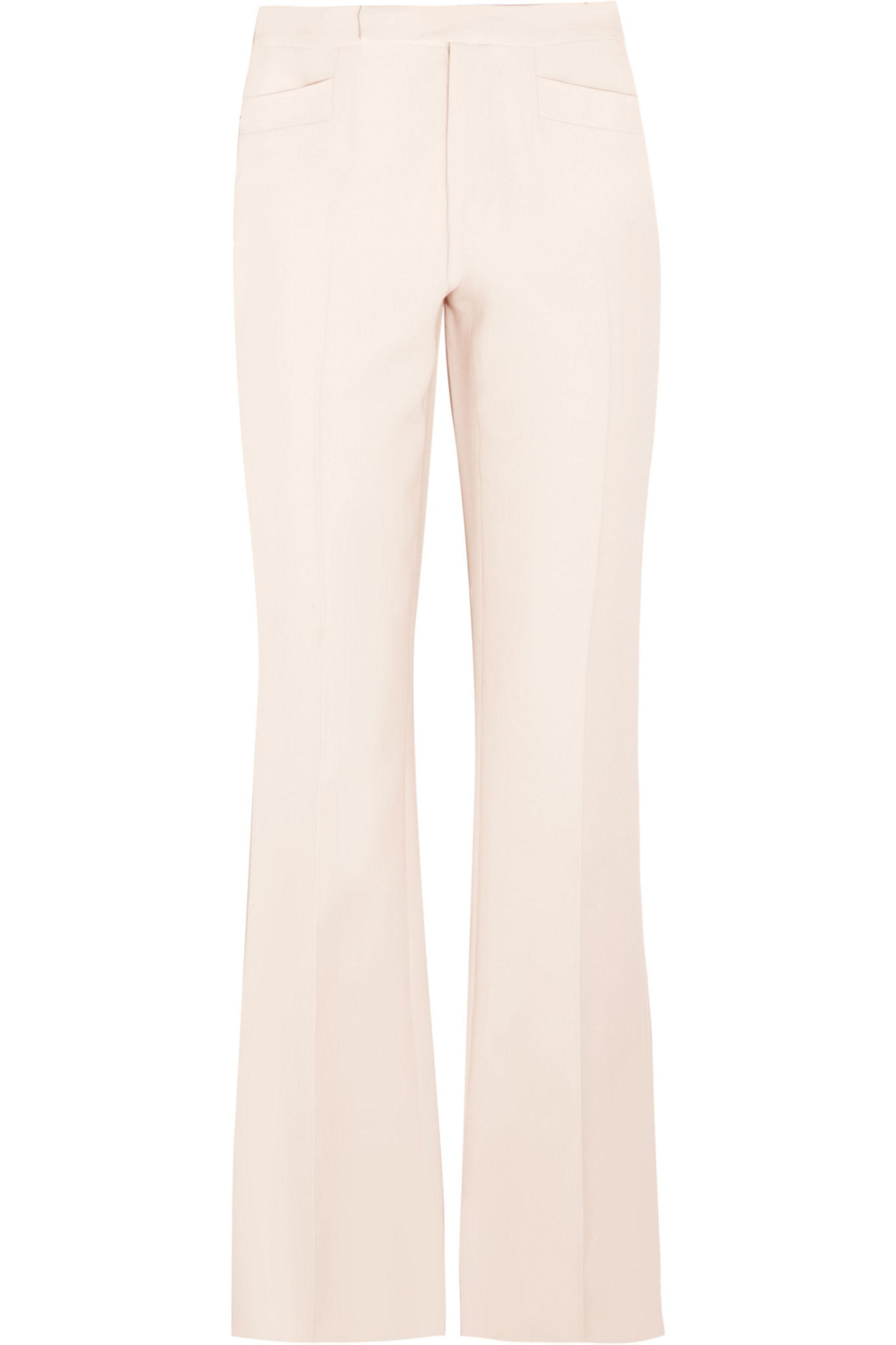 Wool and silk-blend pants Valentino LxuQYw