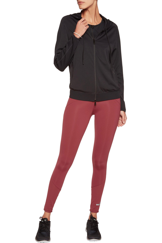 lyst lyst lyst adidas da stella mccartney (pannelli tratto leggings in rosso d9cba1
