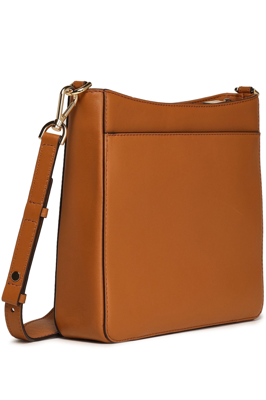 01052516b0b16d MICHAEL Michael Kors Woman Gloria Leather Shoulder Bag Light Brown ...