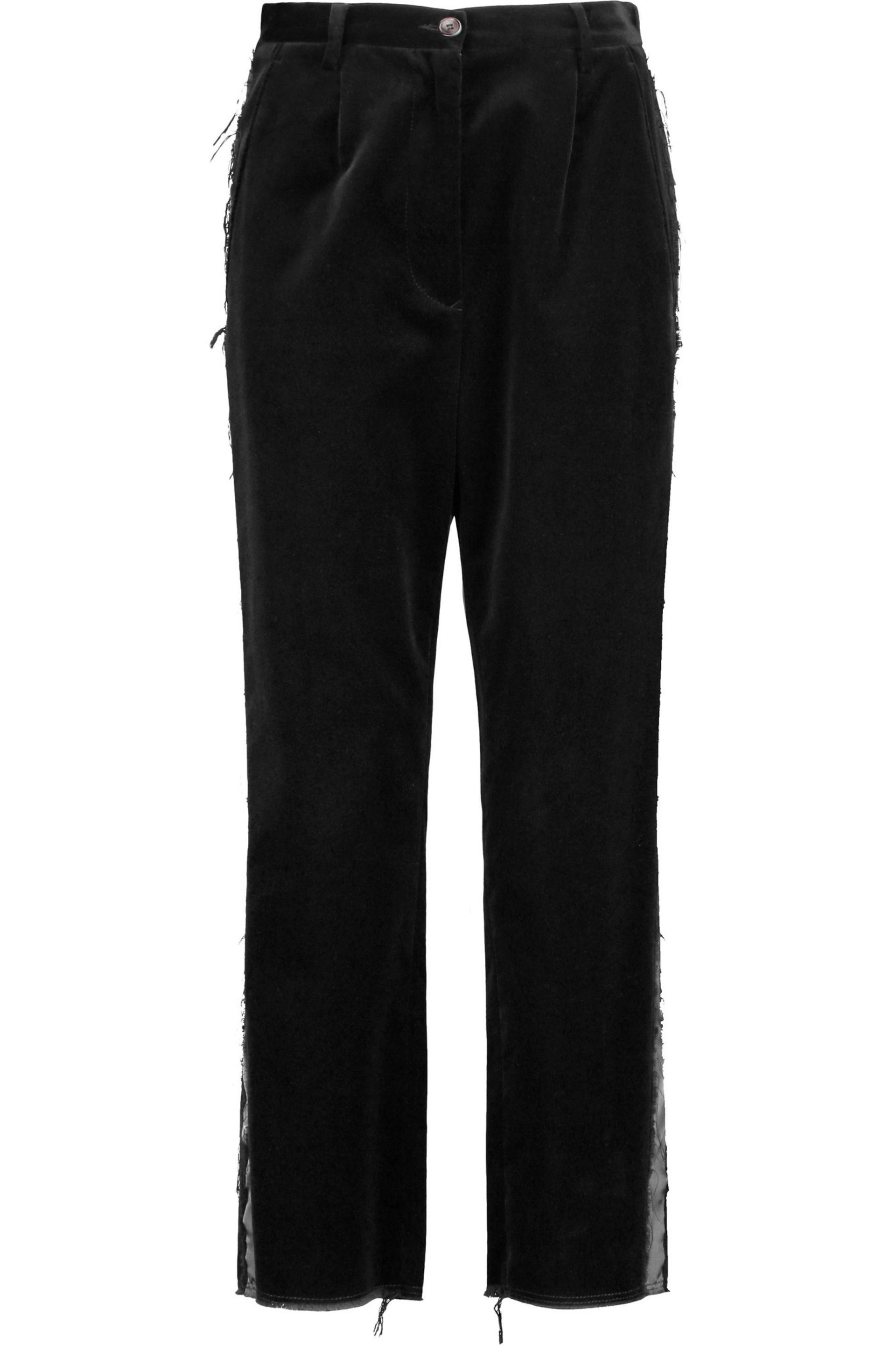 belted straight-leg trousers - Black Maison Martin Margiela TWDwS