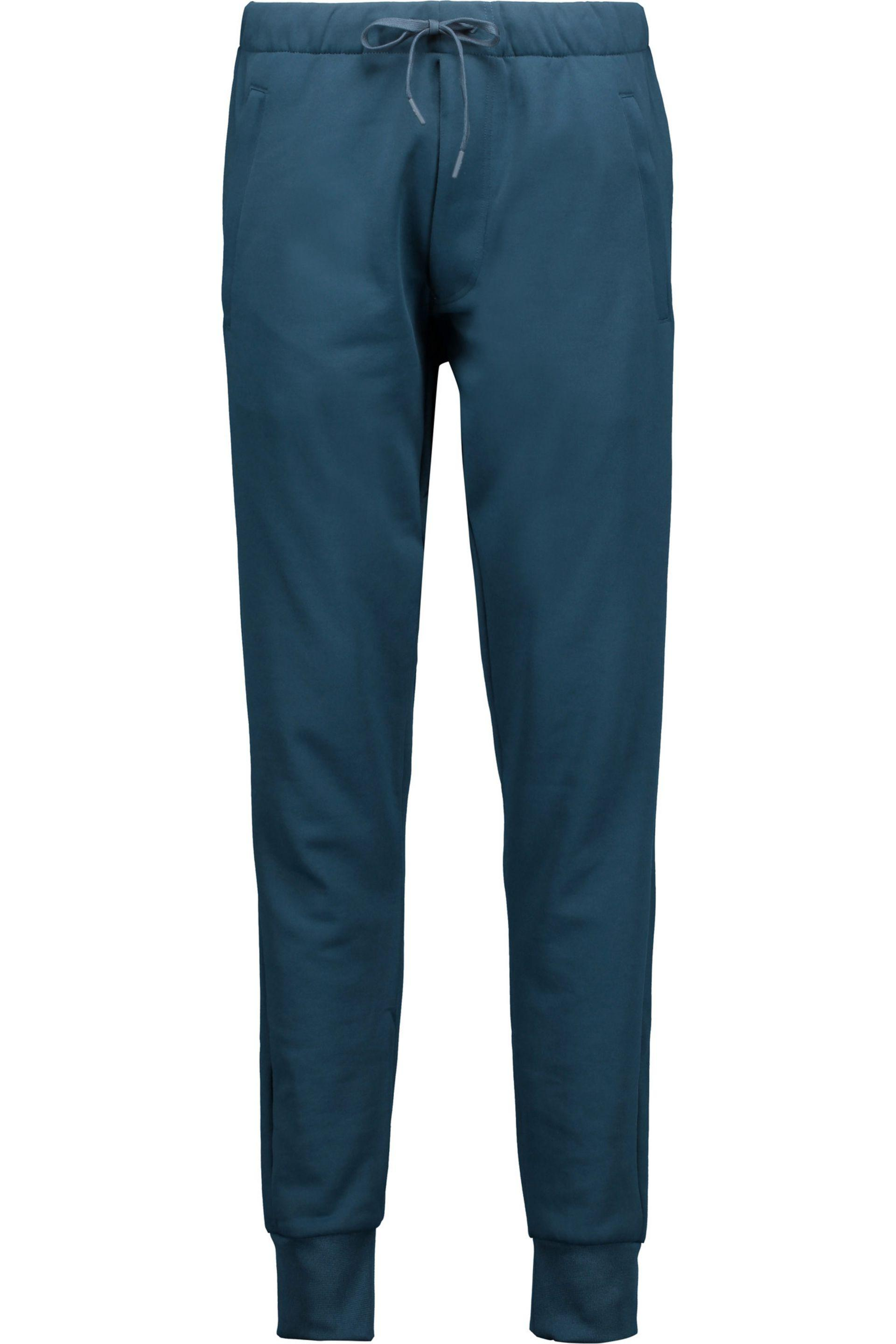 f13adc83fc58a Lyst - Y-3 + Adidas Originals Cotton-jersey Track Pants in Blue