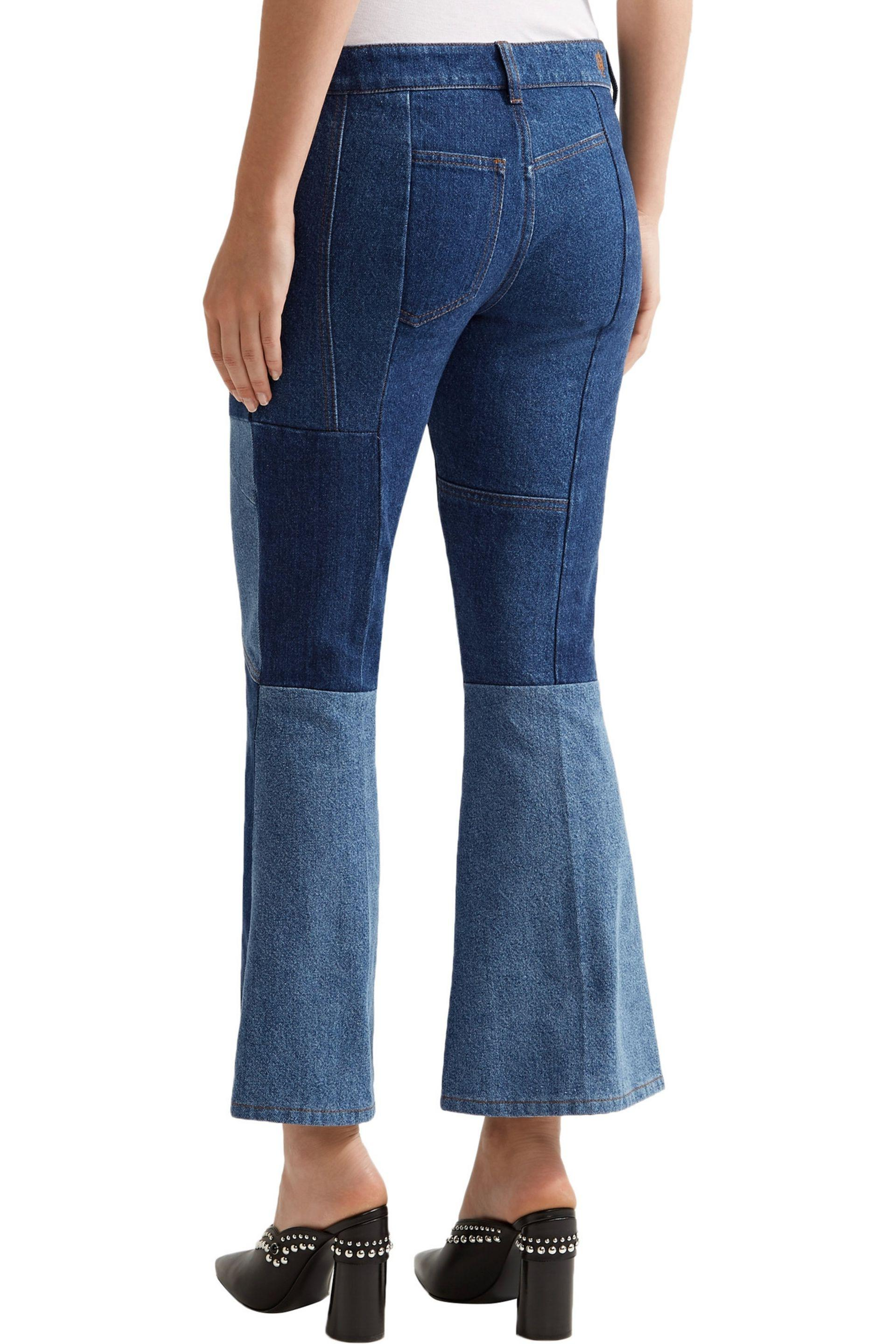 flared jeans - Blue Alexander McQueen Cheap Sale Choice Top Quality For Sale Shop Offer Cheap Online Supply Cheap Price Limit Discount DOF7nK8PoB