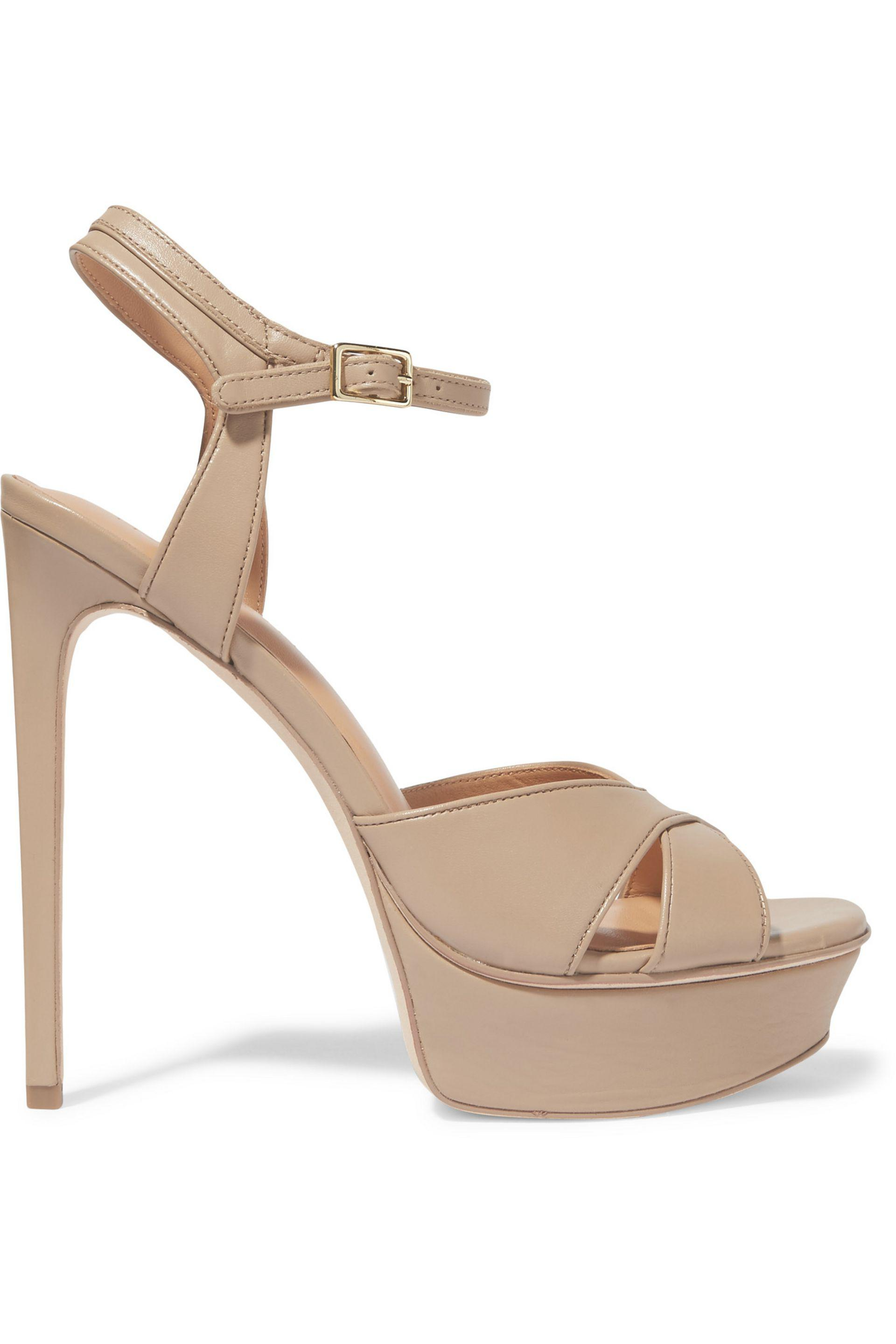Halston Heritage Cutout Platform Sandals cheap prices authentic under $60 cheap online quality free shipping low price hot sale Cheapest cheap price KTKDZR6P