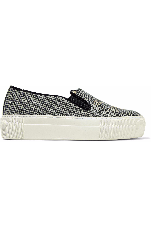 Black Portobello Platform Sneakers Charlotte Olympia JGe63z