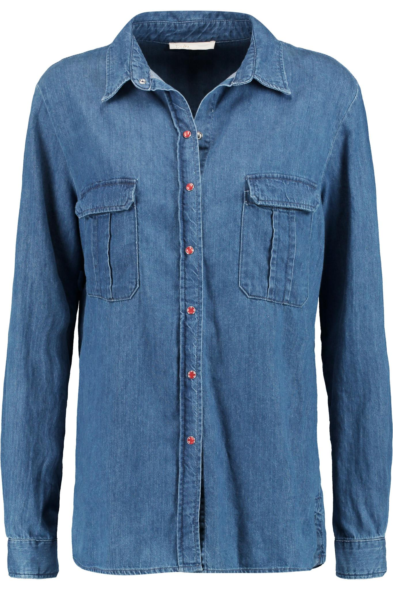 Cheap Sale Purchase DENIM - Denim shirts Maje Sale 100% Guaranteed Cheap Sale Visit Uou8m1