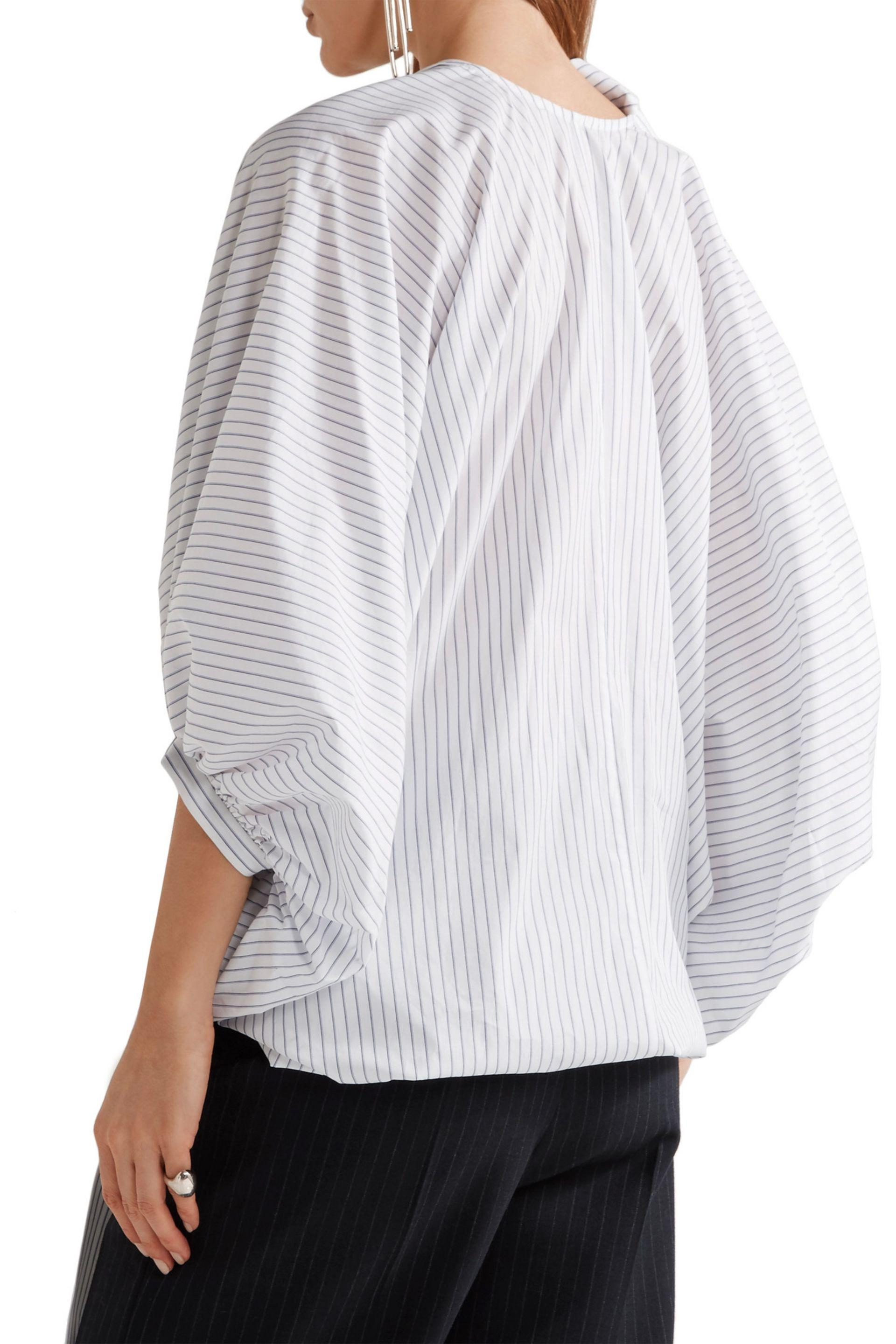 Chalayan striped blouse Cheap Sale Authentic zihctm