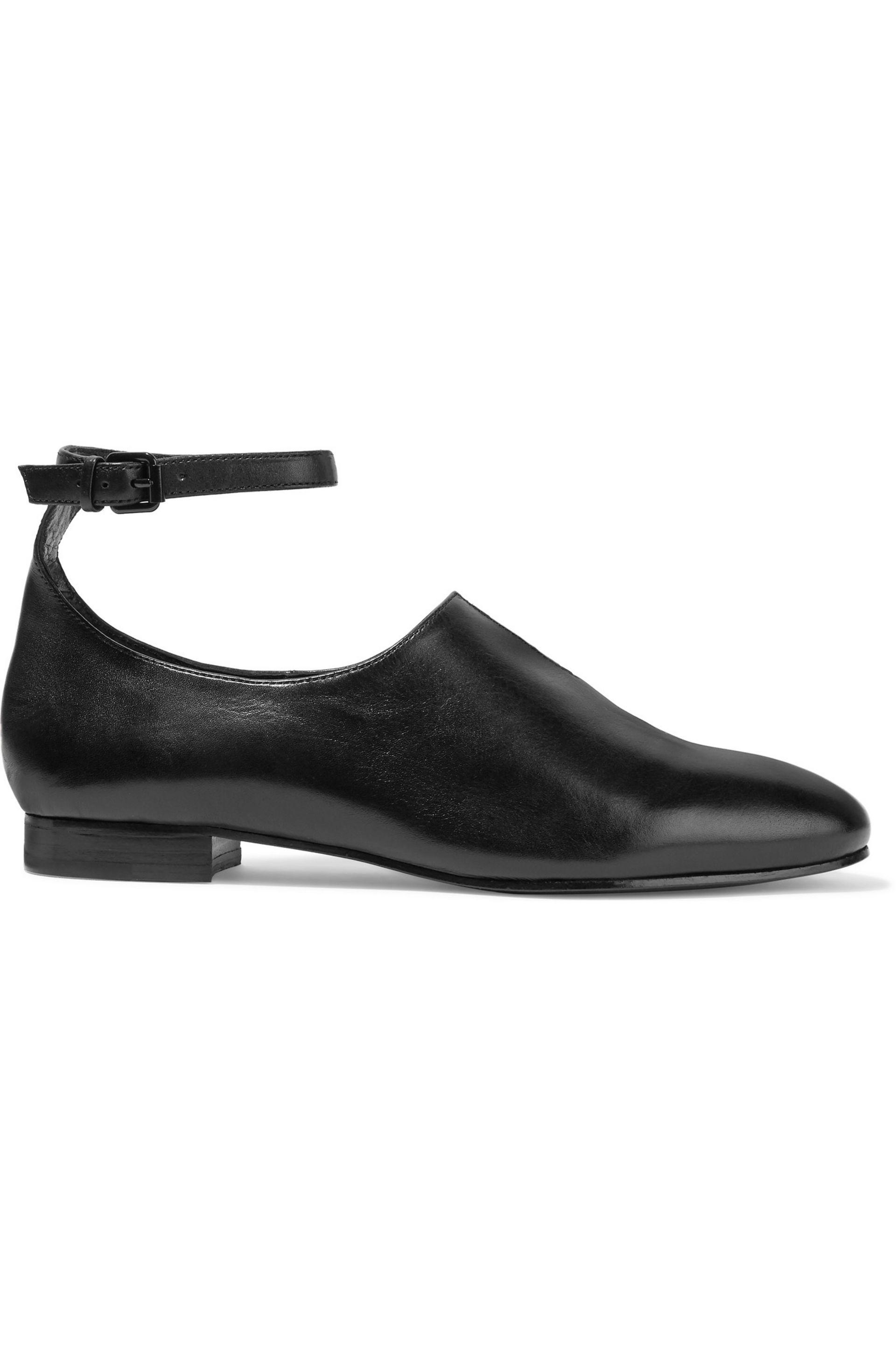 Opening Ceremony. Women's Black Norrah Cutout Leather Brogues