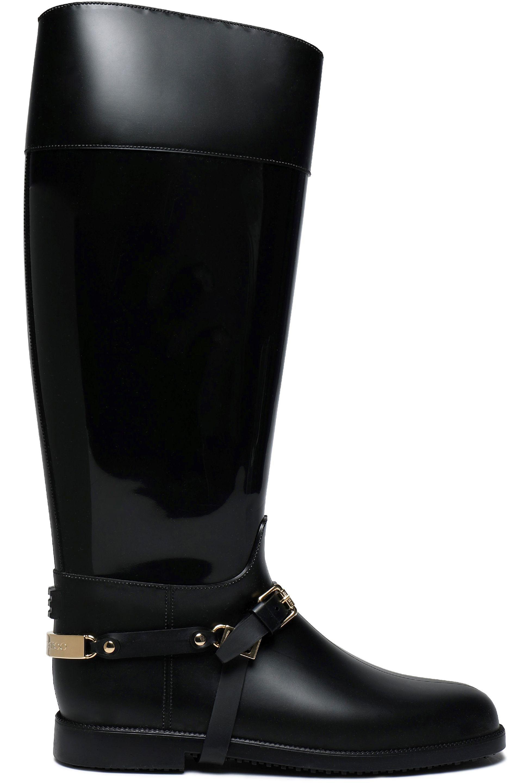 0b6f45daaab7b australia jimmy choo patent leather boots with buckles 4310c 040a6; top  quality jimmy choo. womens black cheshire buckled pvc boots c6ad7 3f4ea