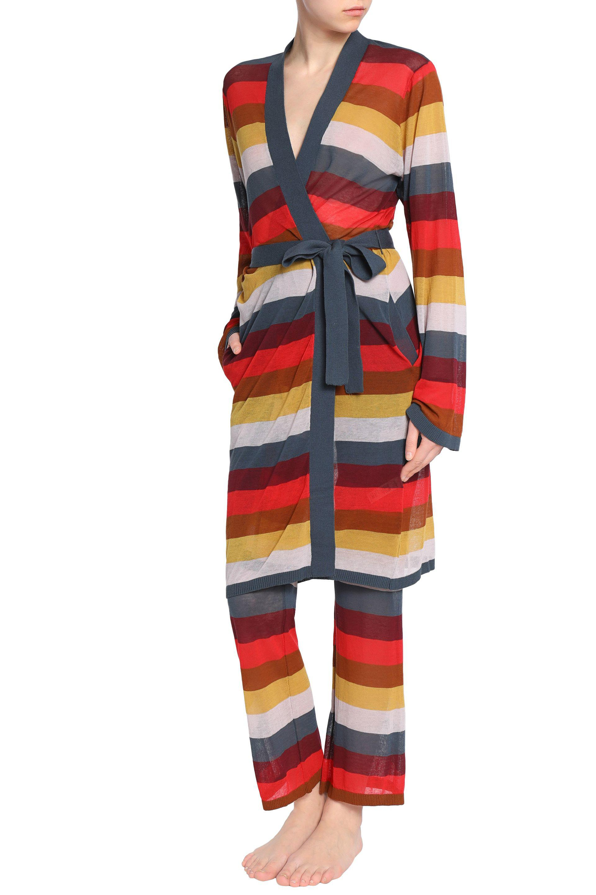 Love Stories Woman Striped Cotton-blend Pajama Pants Multicolor Size XL Love Stories Clearance Get Authentic Low Price Online Get To Buy Cheap Price Sale Cheap Online EEnrwNakhr