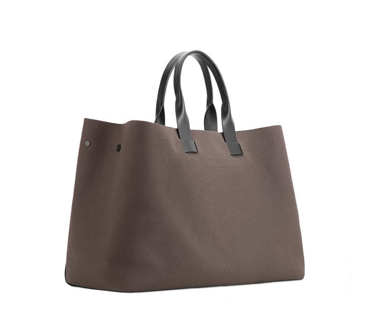 Troubadour Khaki Canvas And Leather Tote Bag for Men - Lyst bd74339d7c7a7