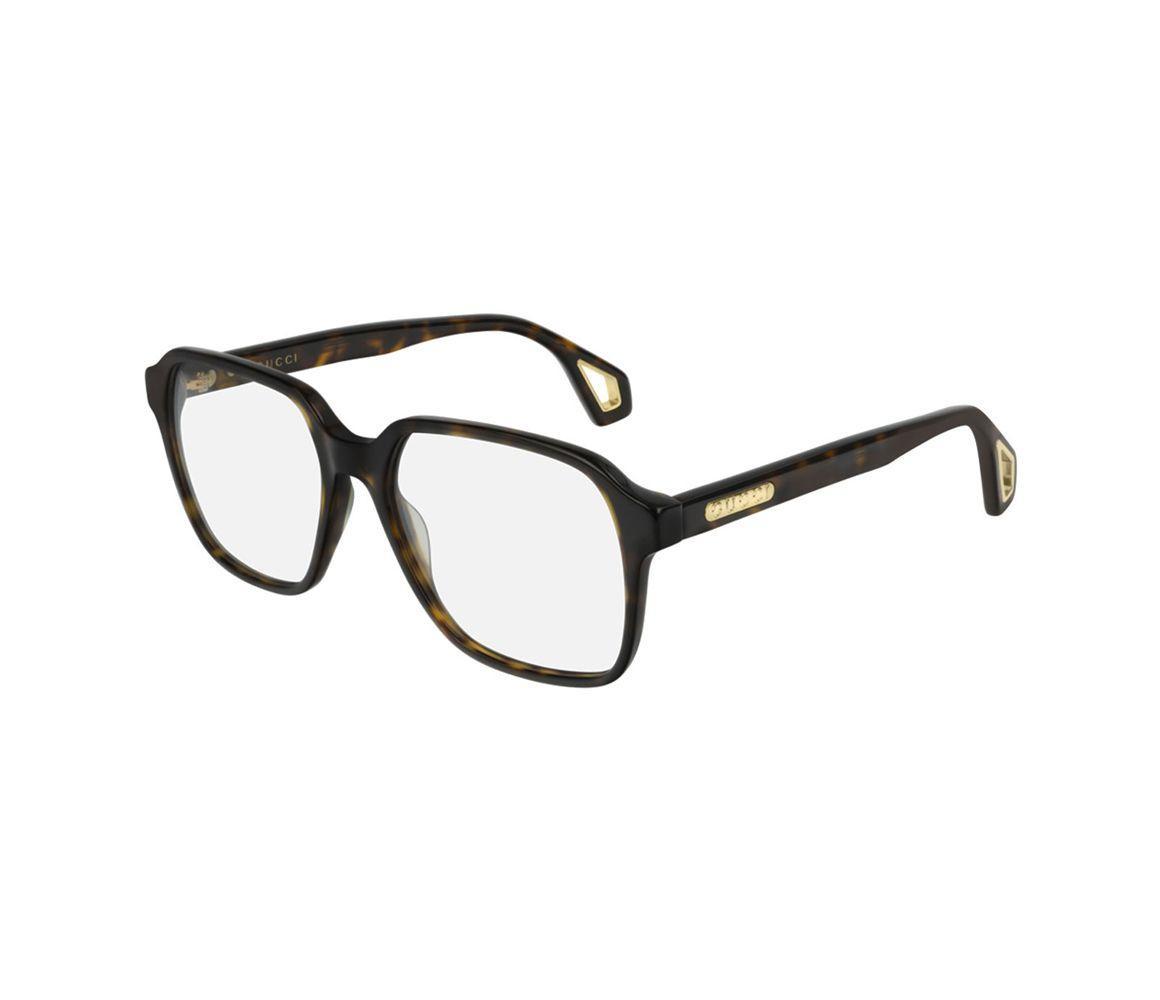 c8ffefb110b3 Gucci. Men's Tortoiseshell Acetate GG0469O-002 Square Optical Glasses
