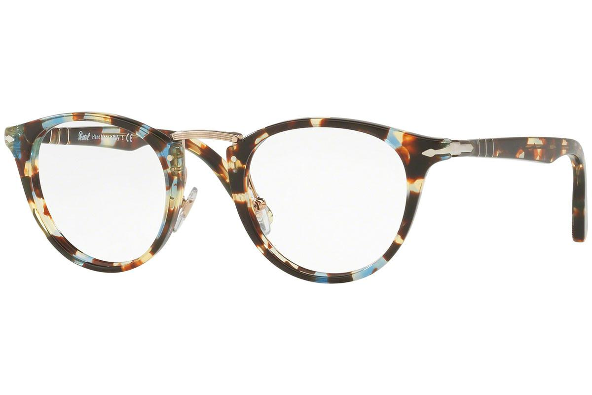 Lyst - Persol Multi-coloured Round Frames With Clear Lenses Eyewear ...