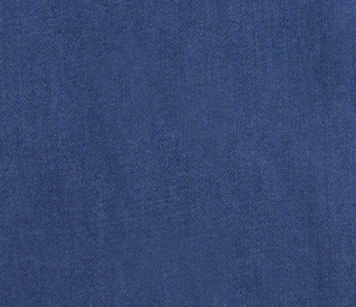 5310344fdf1f Naked Clothing - Royal Blue Long Sleeve Stone Washed Denim Polo Shirt for  Men - Lyst. View fullscreen