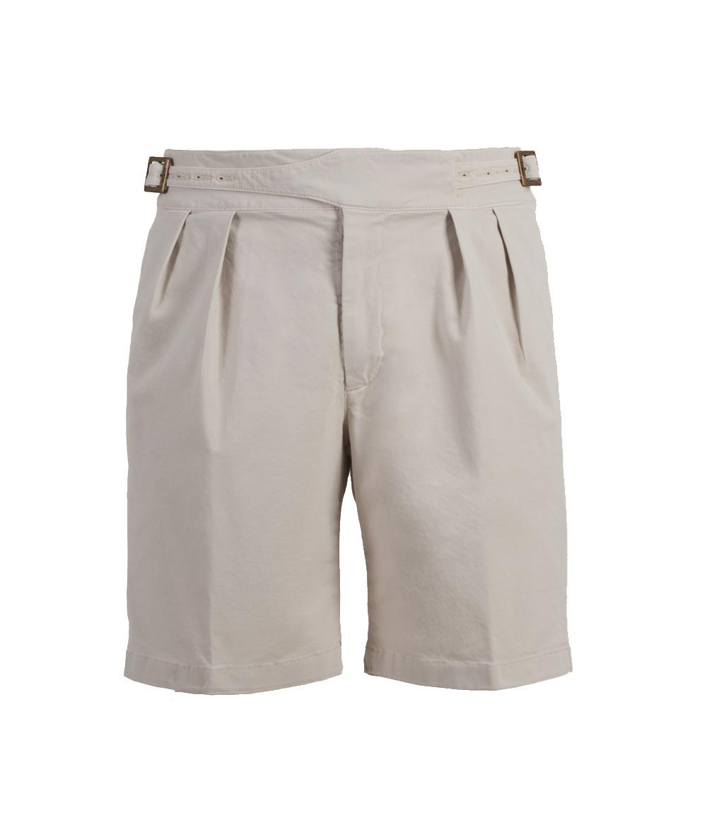 Olive Manny Cotton Shorts Rubinacci