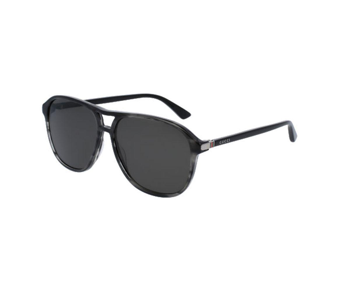 36c76c4605 Gucci. Men s Gray Grey Tortoiseshell Acetate GG0016S-002 Square Sunglasses