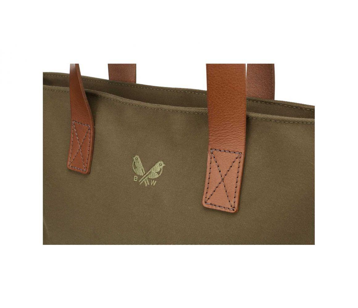 62ea4287da1f Bennett Winch - Green Olive Canvas And Leather Tote Bag for Men - Lyst.  View fullscreen