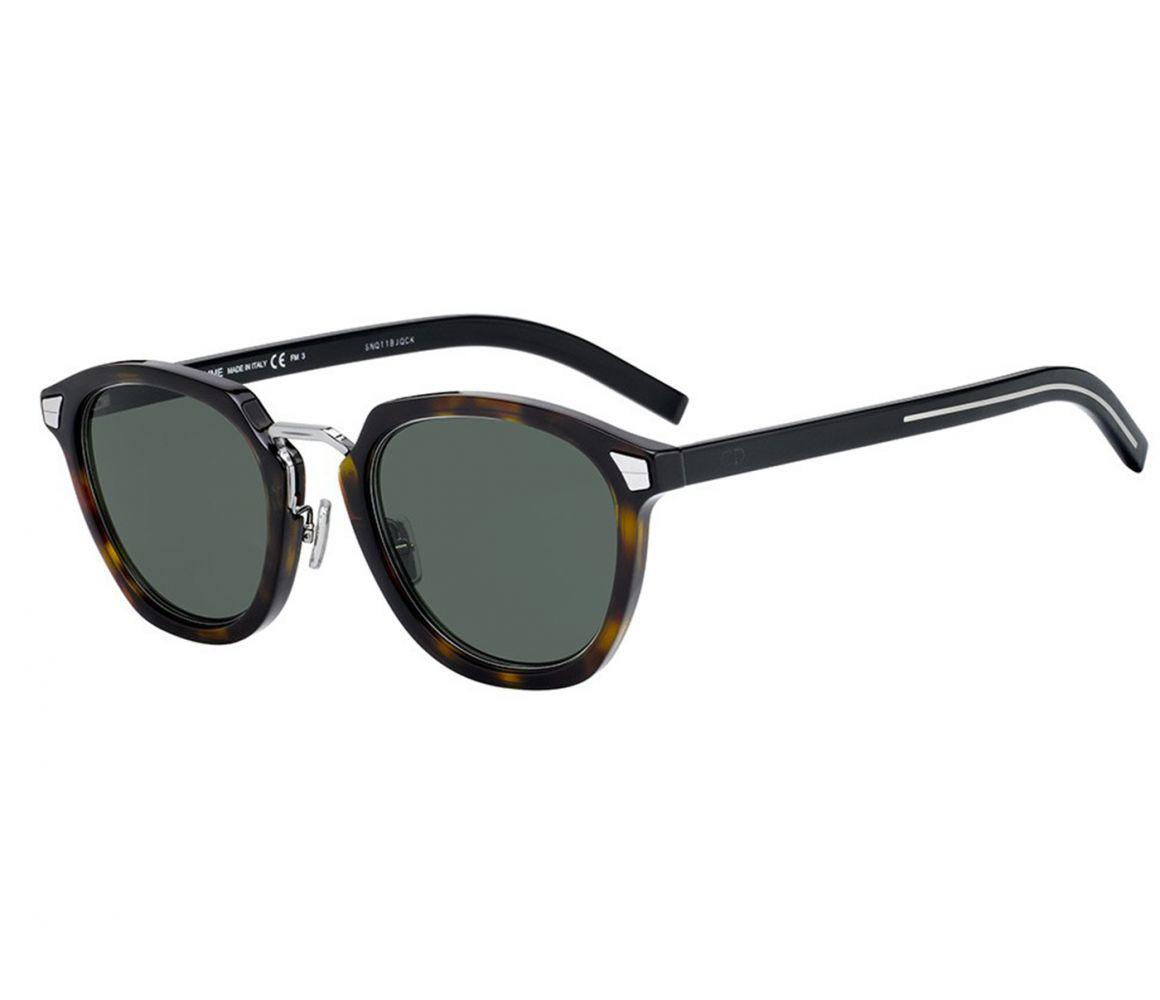 8550e91462ac0 Dior Homme Diortailoring Brown Tortoiseshell Frames With Black ...