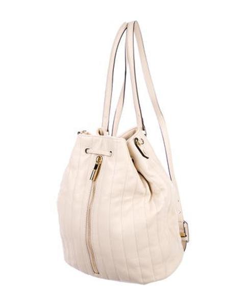 c0bc4b20c6 Lyst - Elizabeth And James Cynnie Grained Leather Bucket Bag W  Tags ...