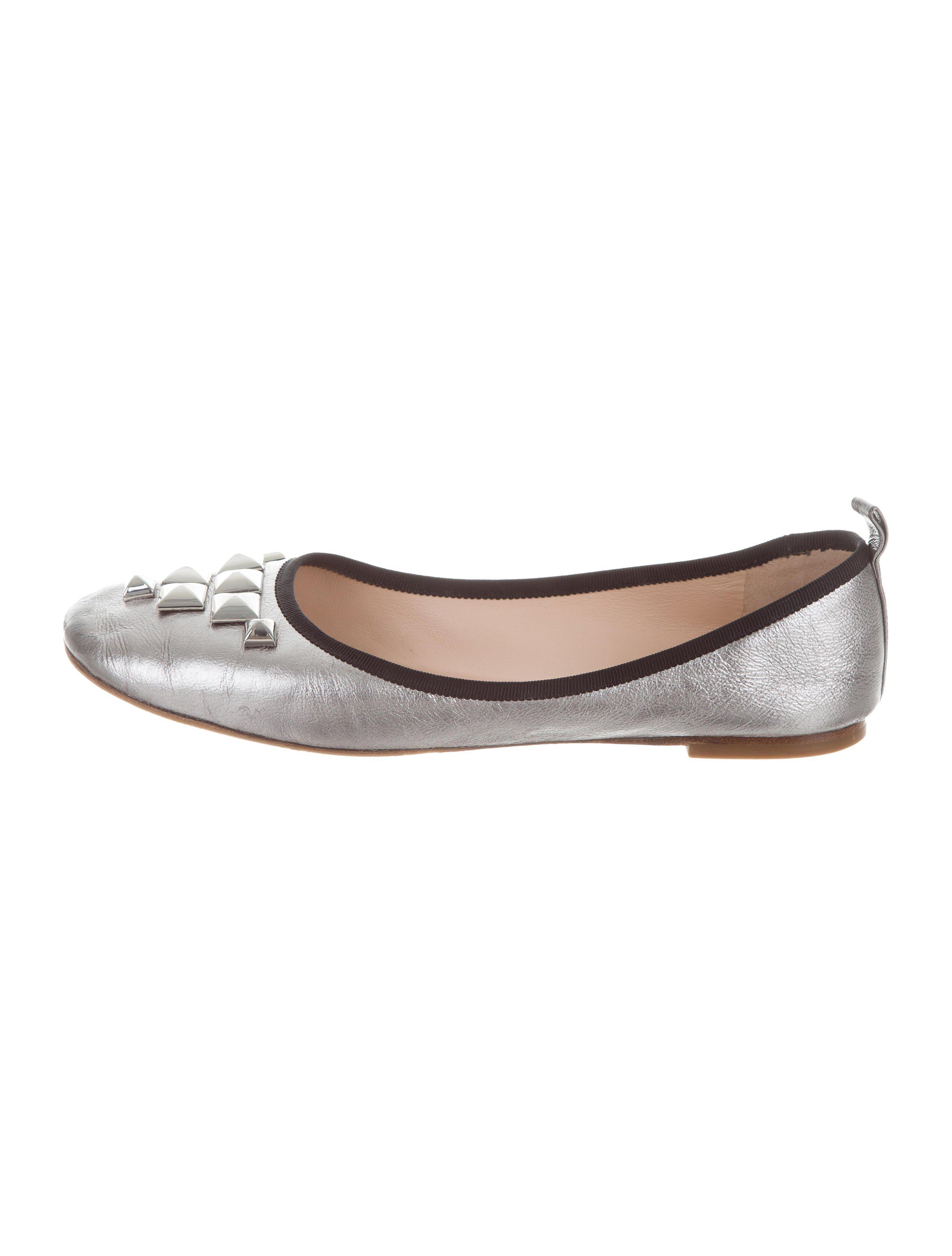 Marc Jacobs Metallic Embellished Flats free shipping low price fee shipping websites online cheap sale wiki footlocker finishline for sale clearance best wholesale yHcKcGOAoO